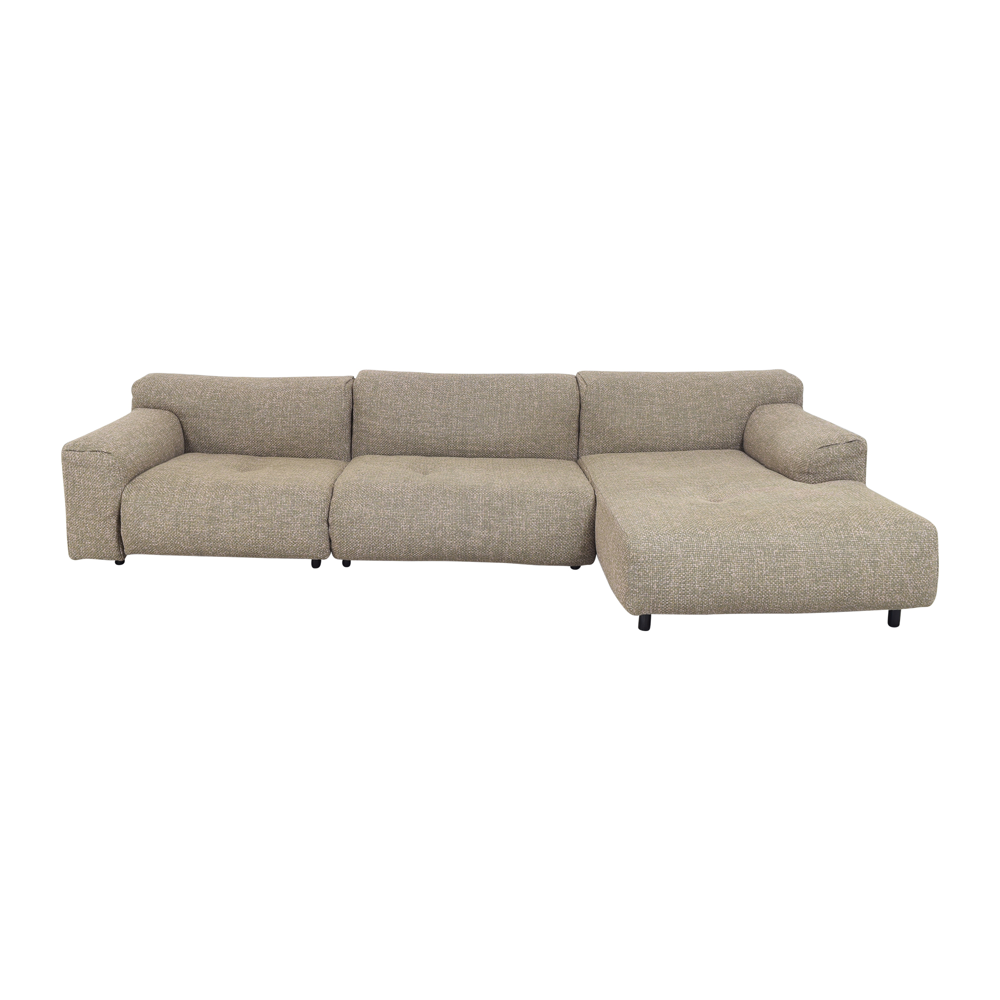 Living Divani Living Divani Sectional Sofa with Chaise nyc