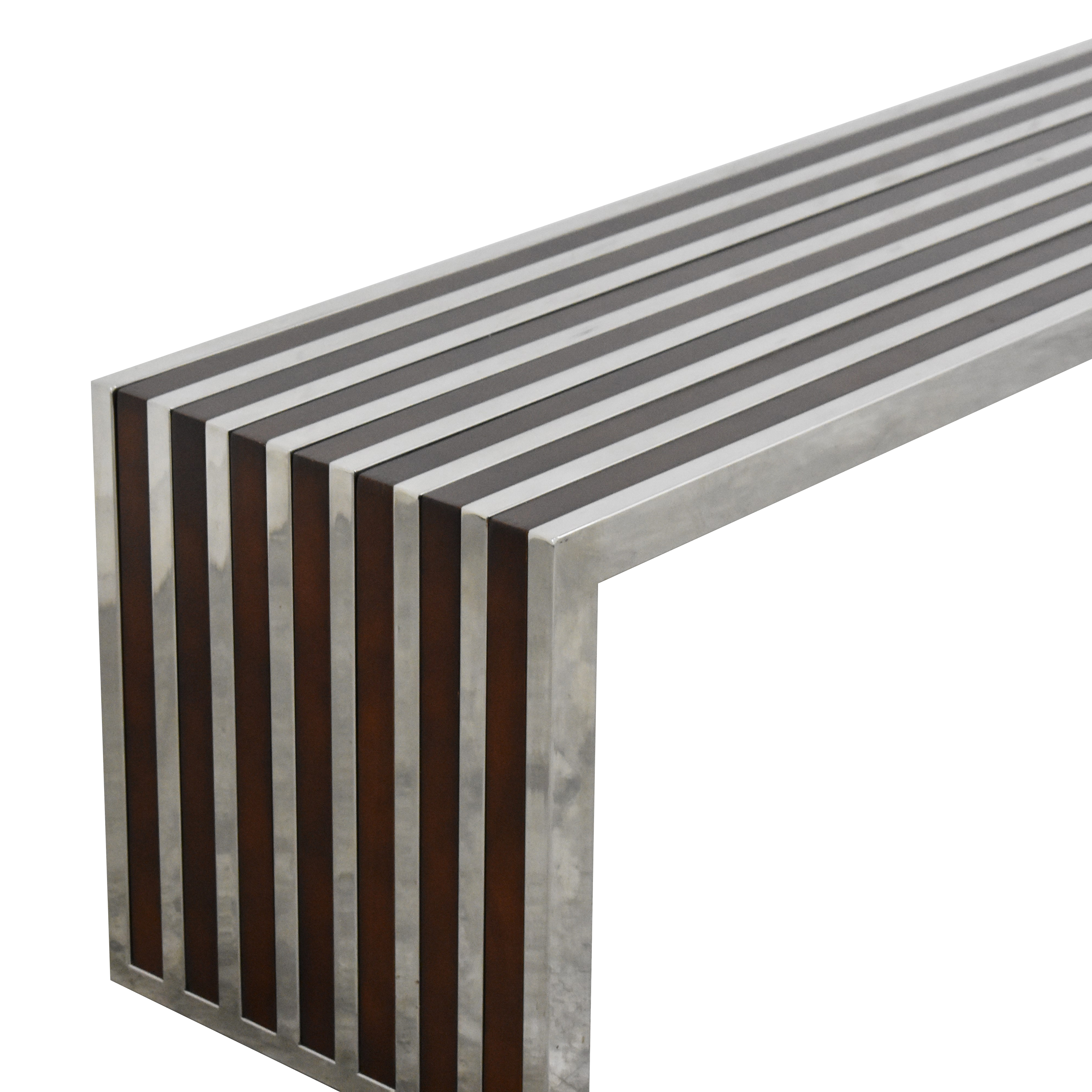 LexMod Gridiron Large Inlay Bench LexMod