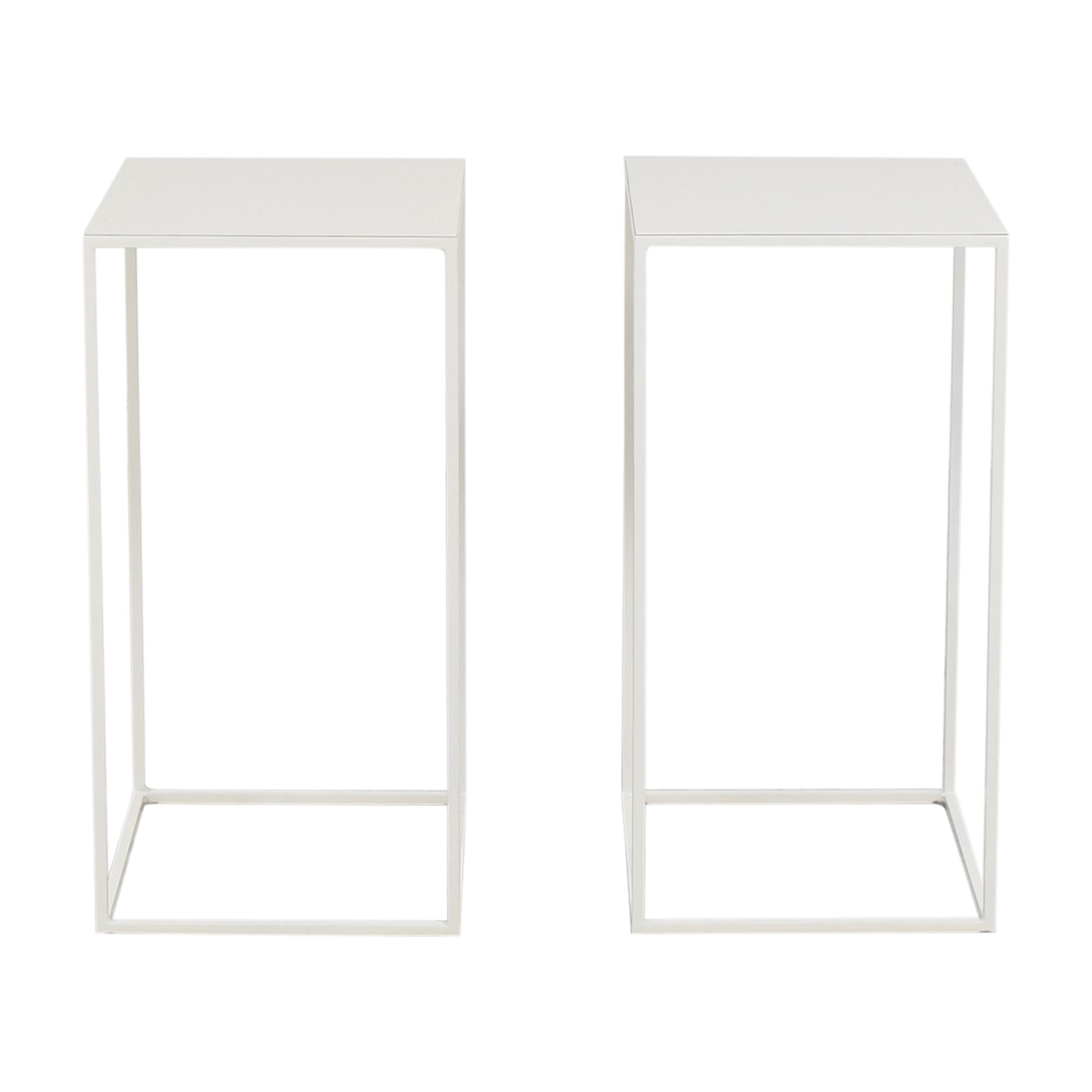 shop ABC Carpet & Home Box Frame Side Tables ABC Carpet & Home Accent Tables