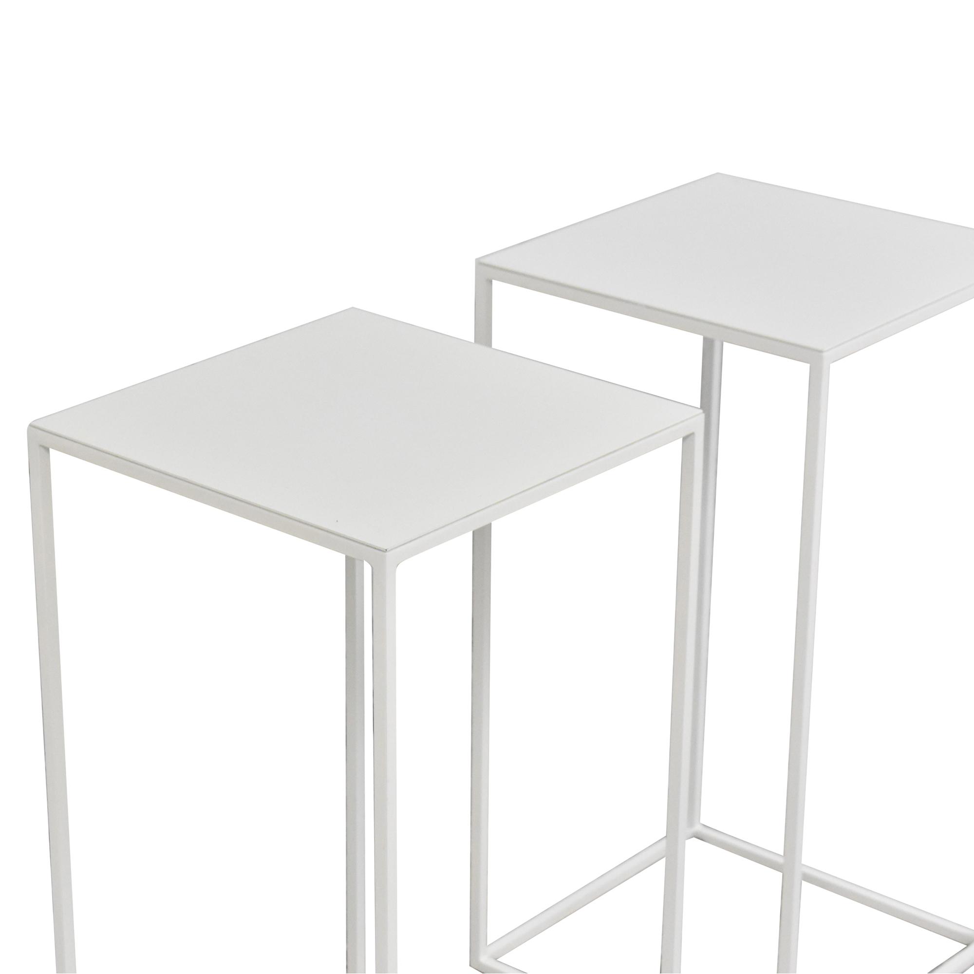 buy ABC Carpet & Home Box Frame Side Tables ABC Carpet & Home Accent Tables