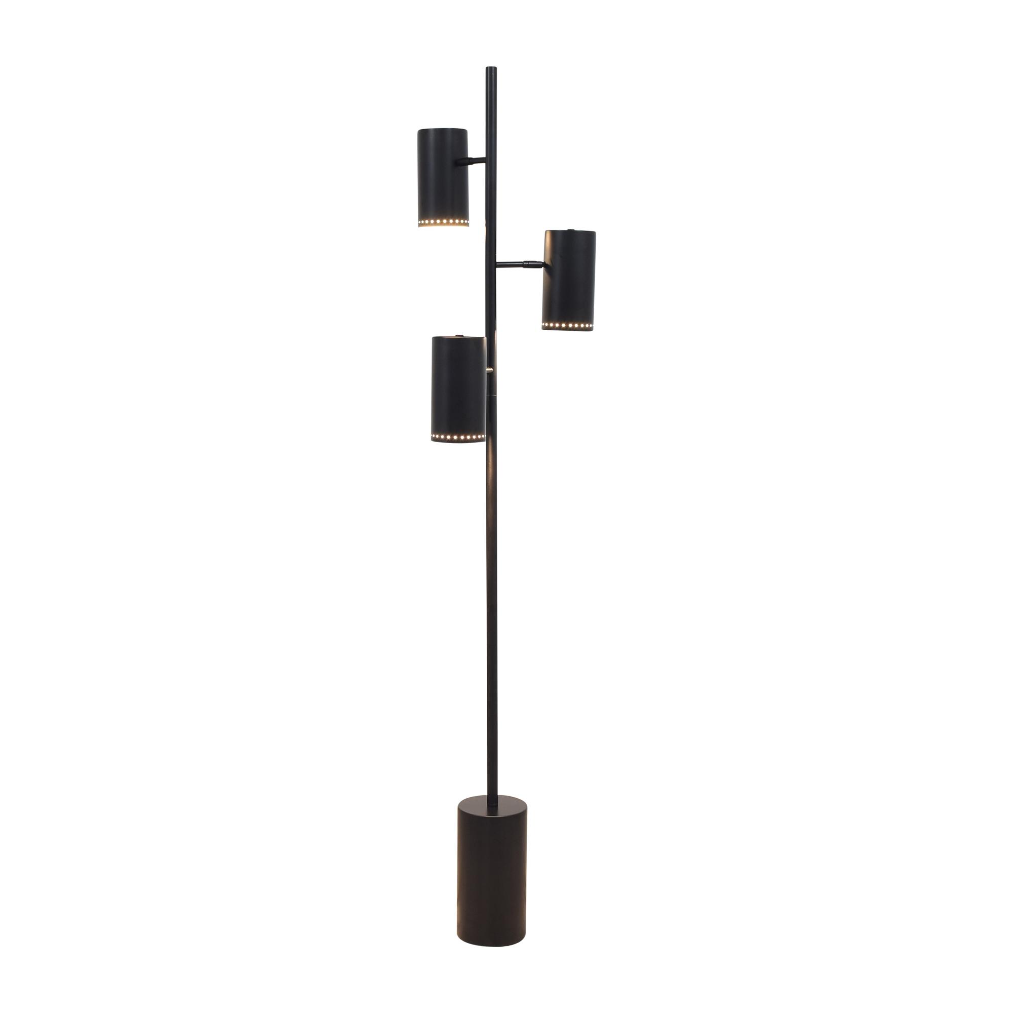 CB2 CB2 Trio Floor Lamp dimensions