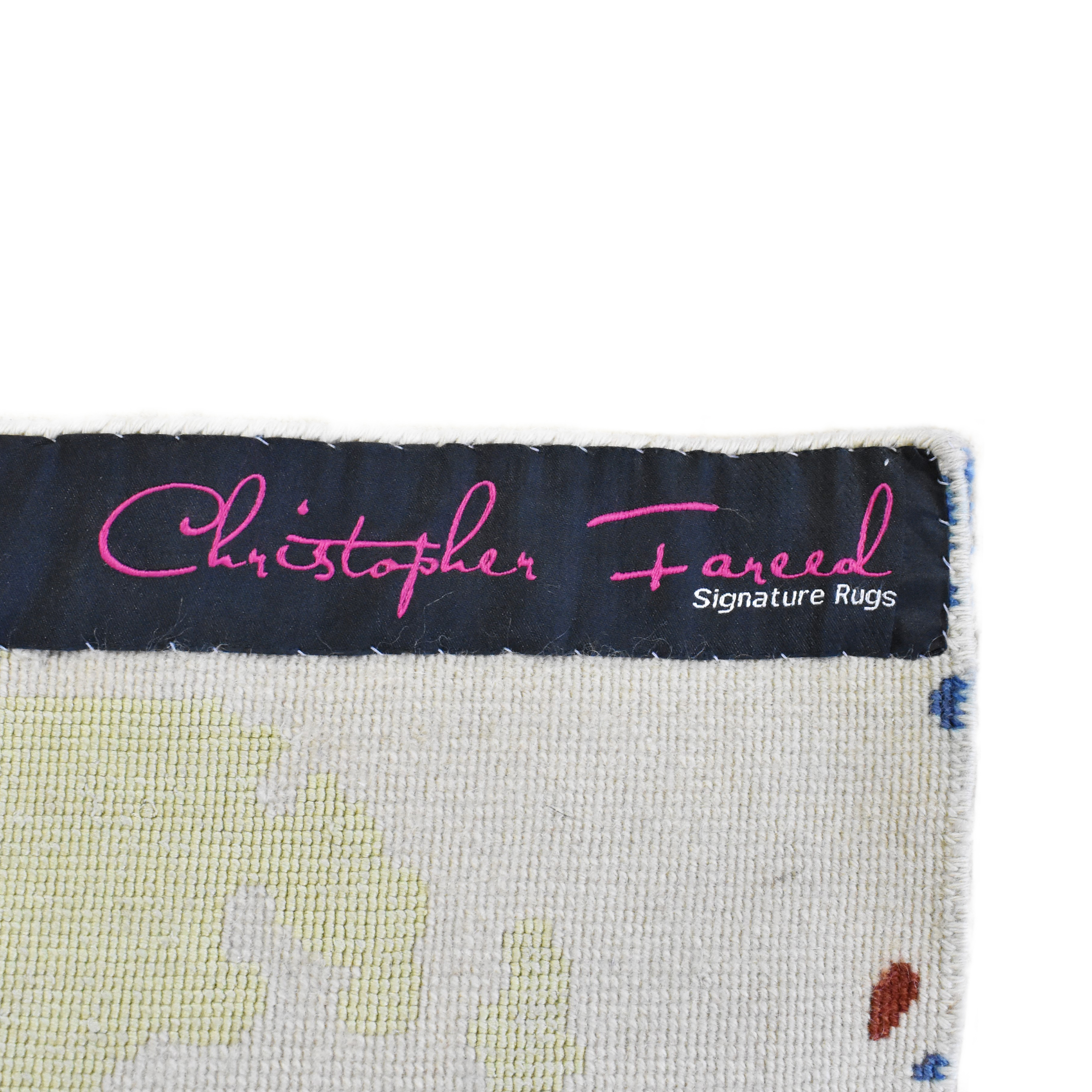 Christopher Fareed Signature Rugs Christopher Fareed Area Rug second hand