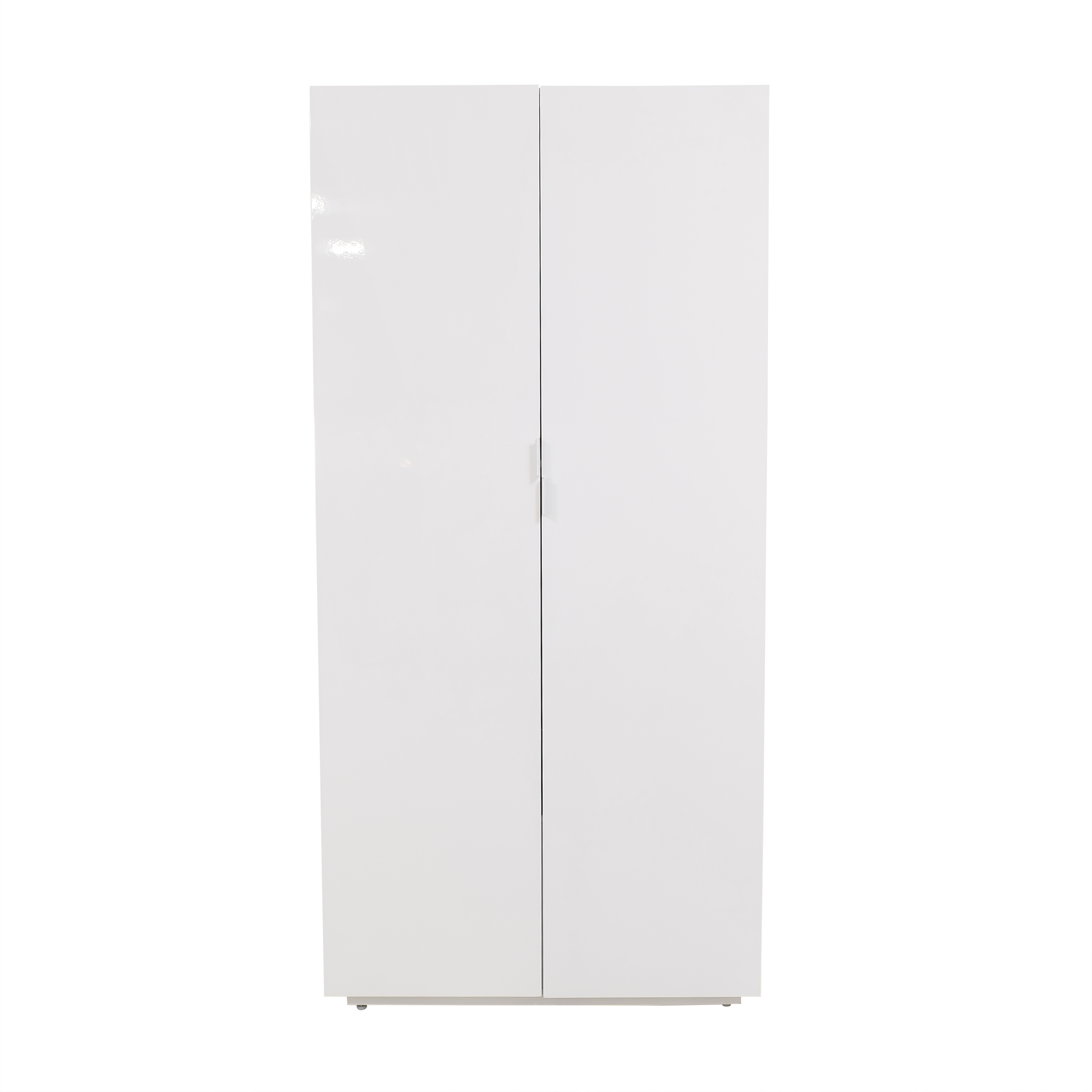CB2 CB2 Wall Wardrobe with Shelves dimensions