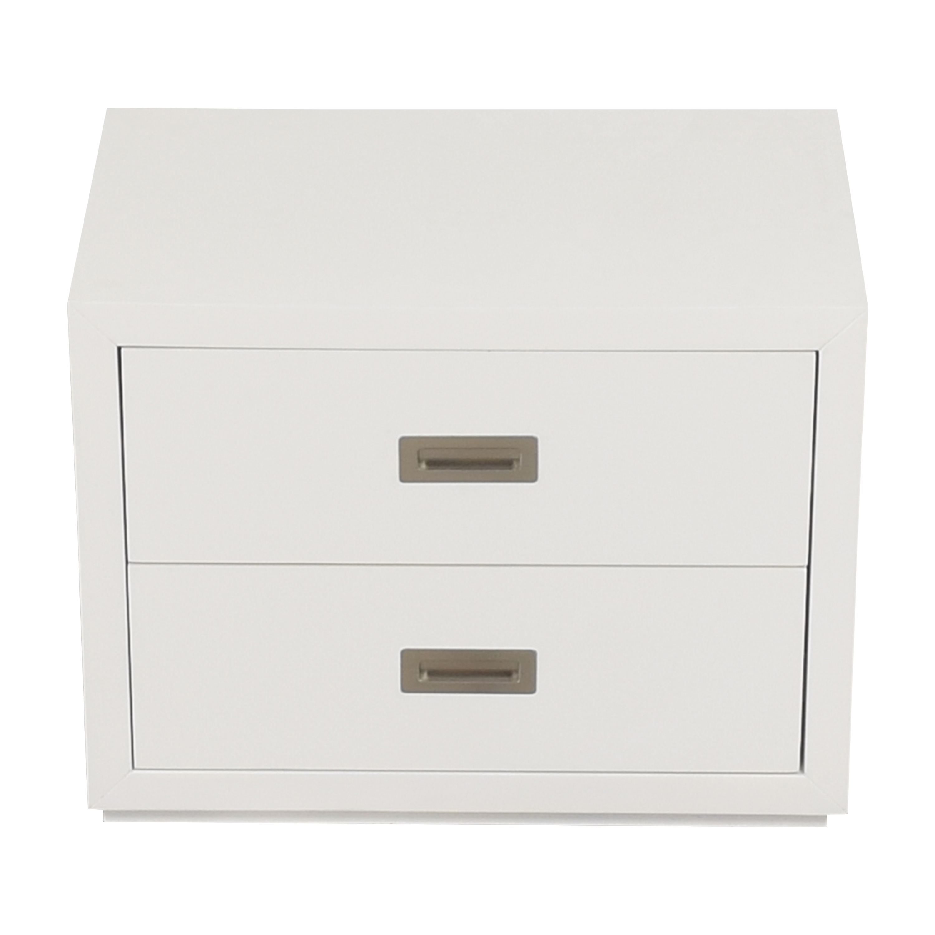 Crate & Barrel Crate & Barrel Aspect Modular Two Drawer Storage Unit End Tables