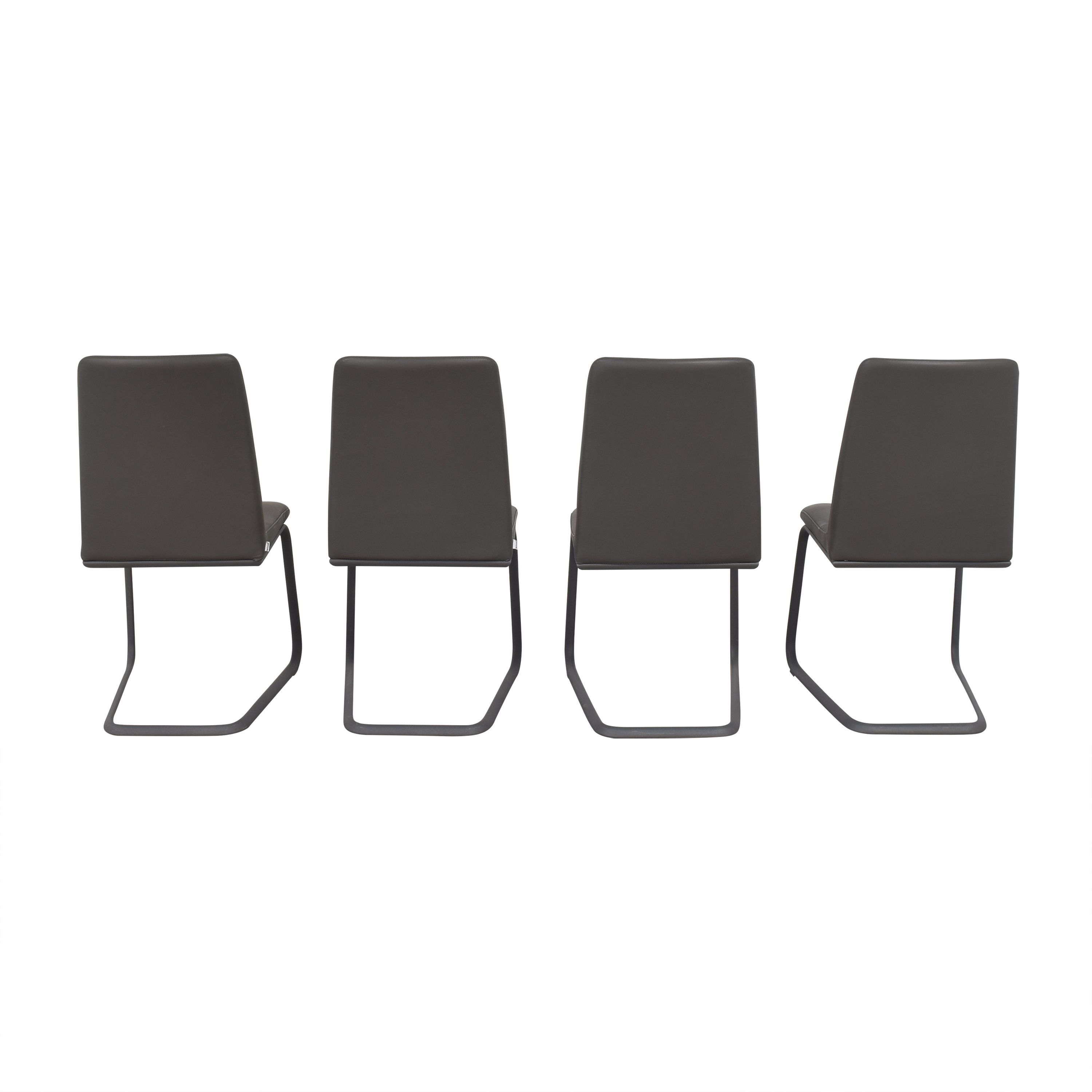BoConcept BoConcept Lausanne Dining Chairs dark gray