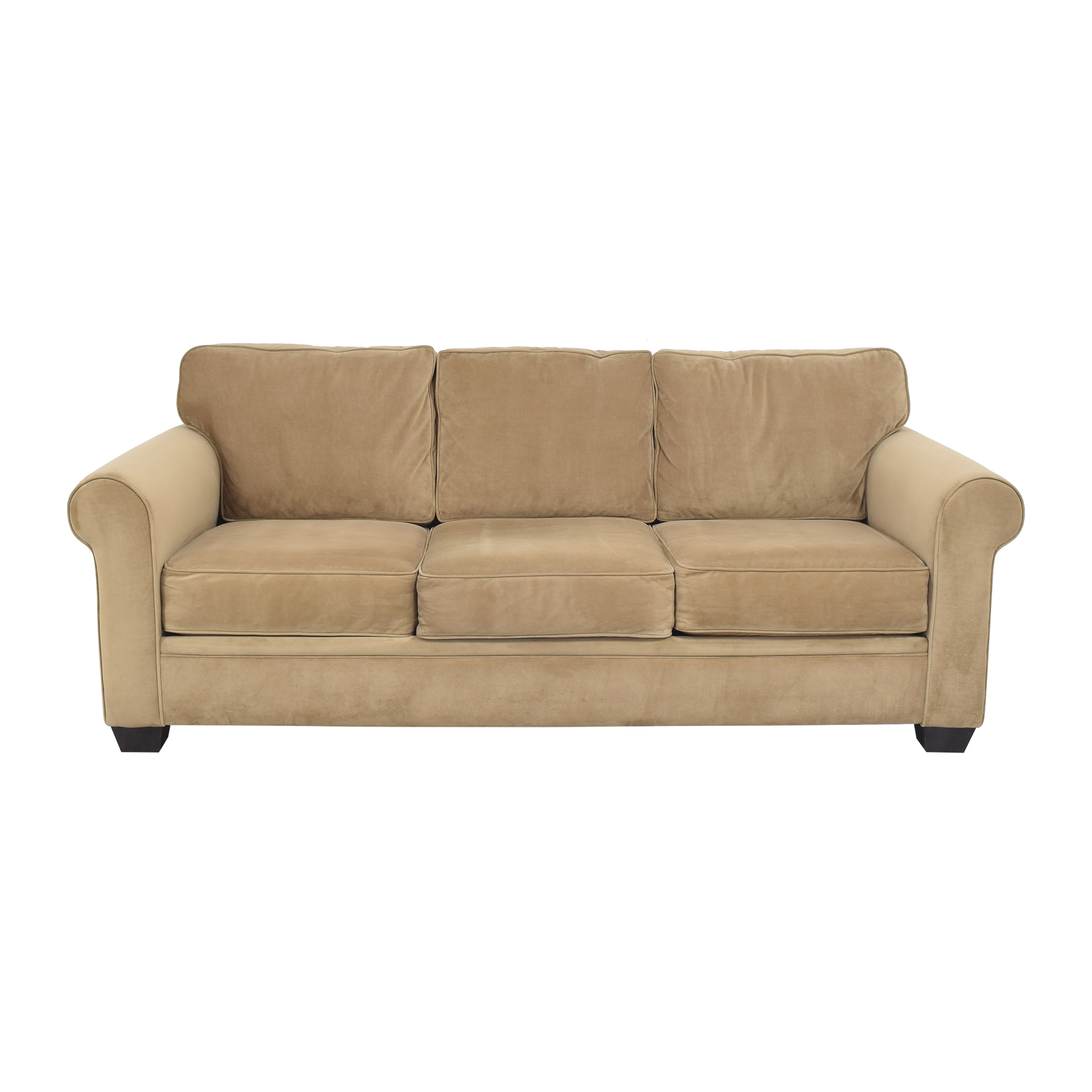 buy Macy's Three Cushion Roll Arm Sofa Macy's Classic Sofas