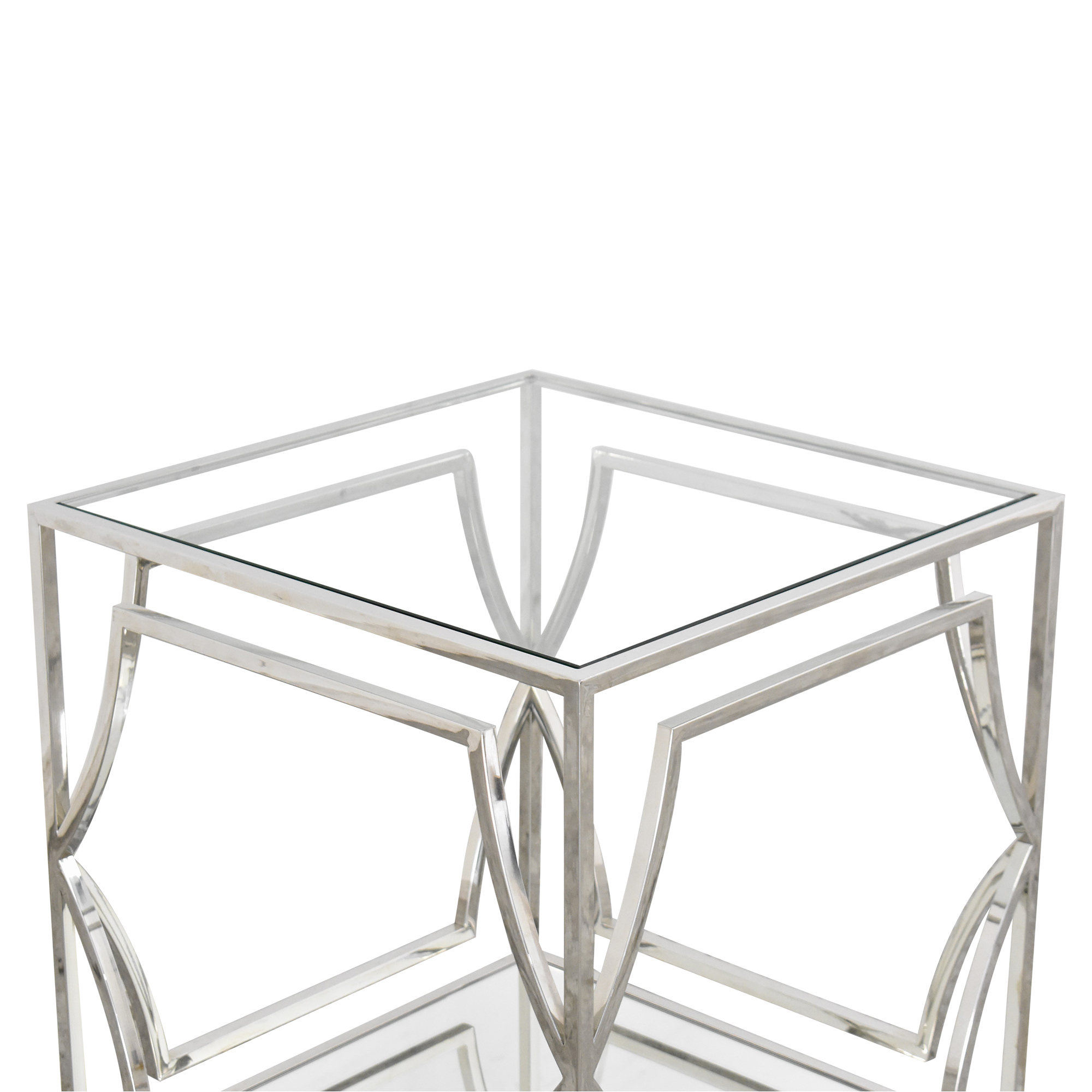 Z Gallerie Z Gallerie Abigail End Table second hand