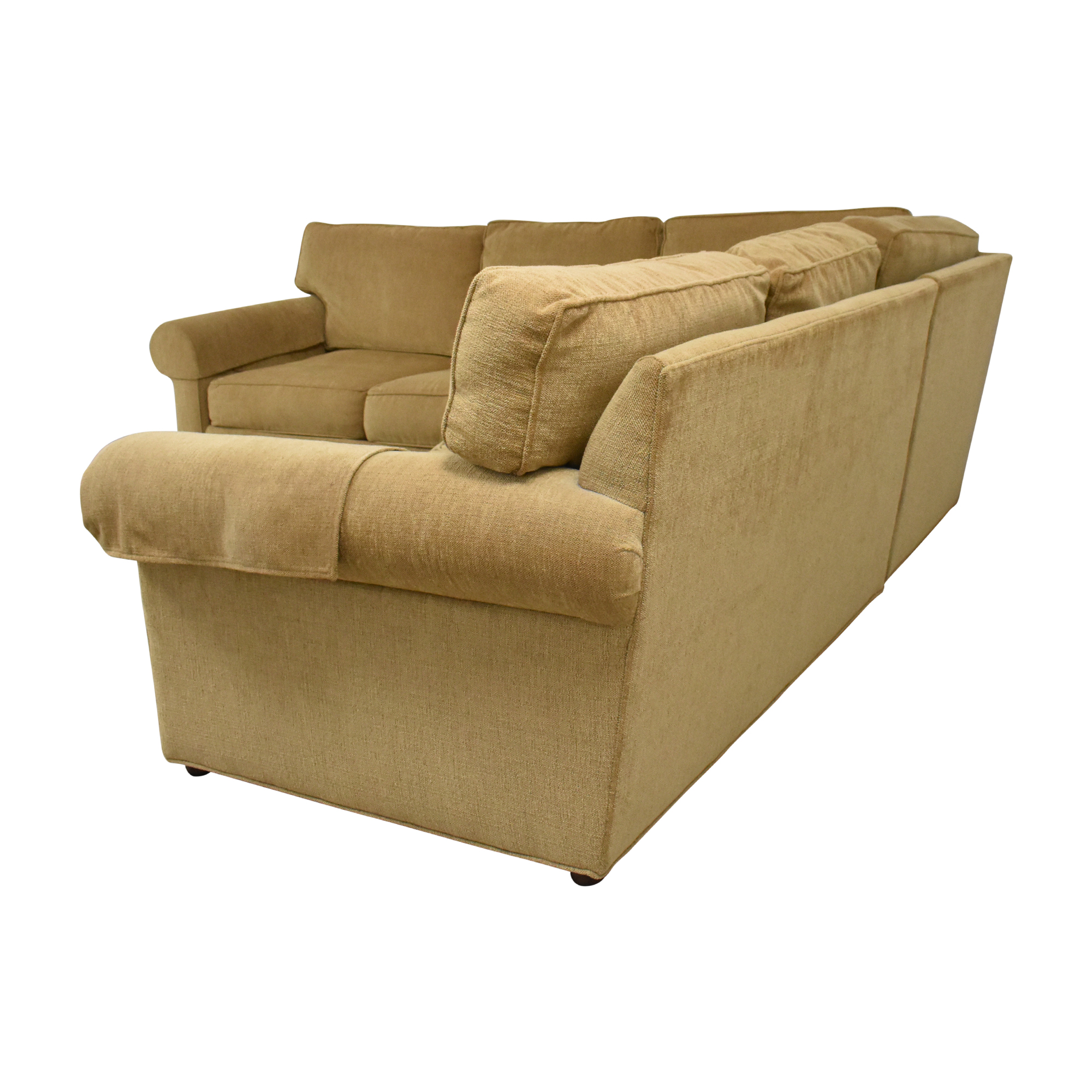 Ethan Allen Ethan Allen Retreat Roll-Arm Three-Piece Sectional Sofa discount