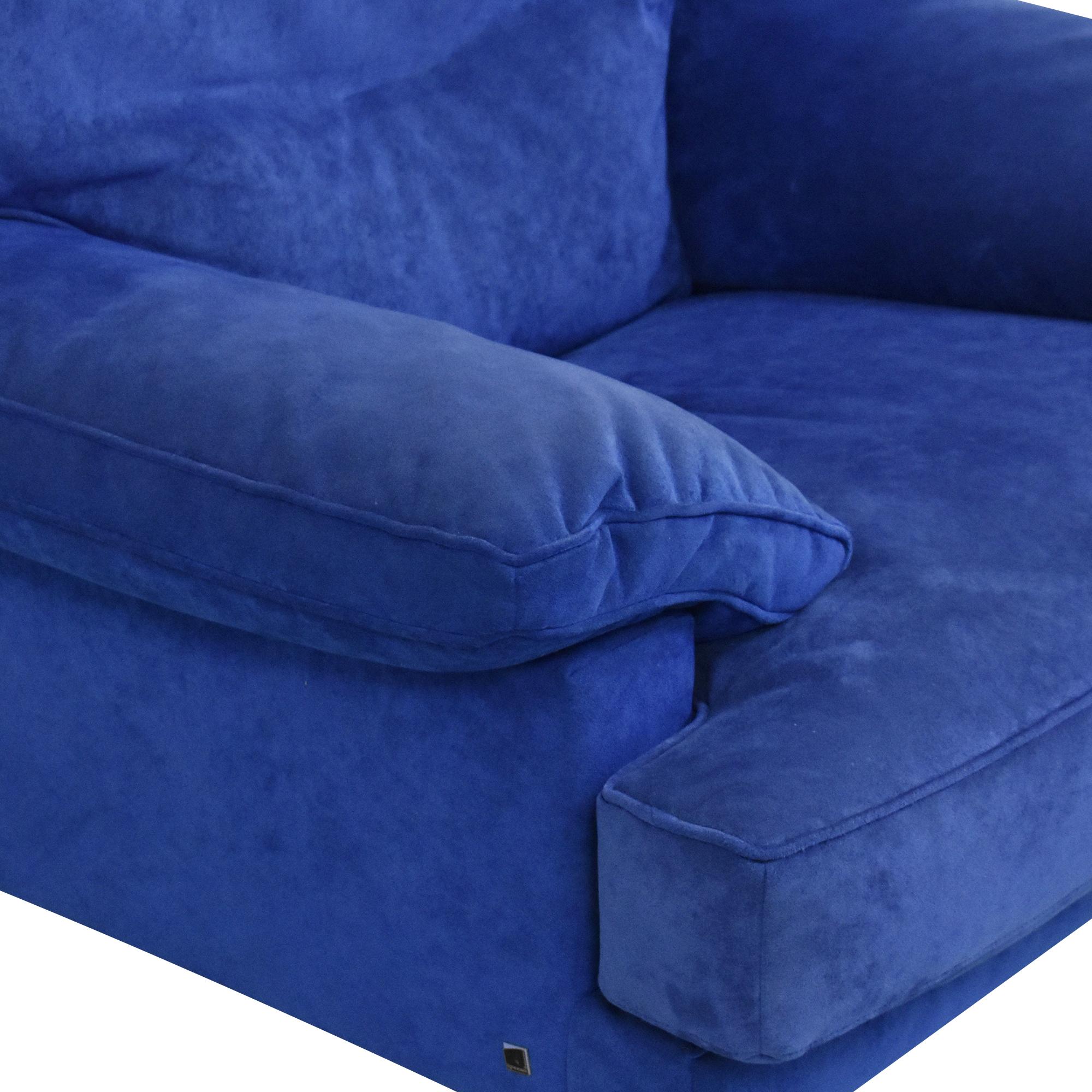 Ligne Roset Ligne Roset Lounge Chair blue