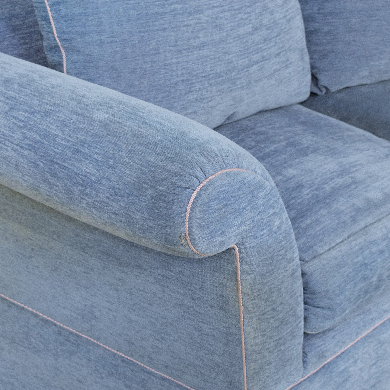 shop Swaim Curved Sectional Sofa Swaim