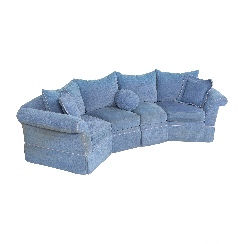 buy Swaim Swaim Curved Sectional Sofa online