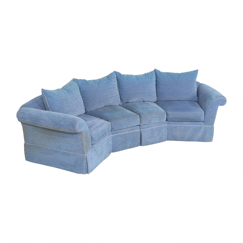 Swaim Swaim Curved Sectional Sofa