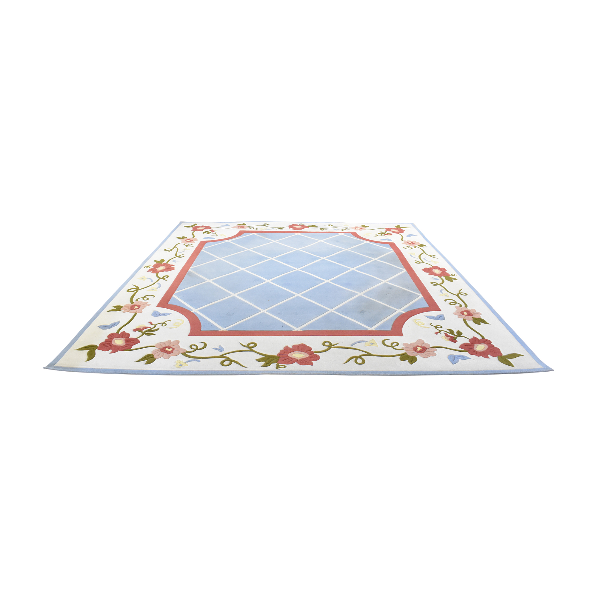 Patterned Area Rug pa