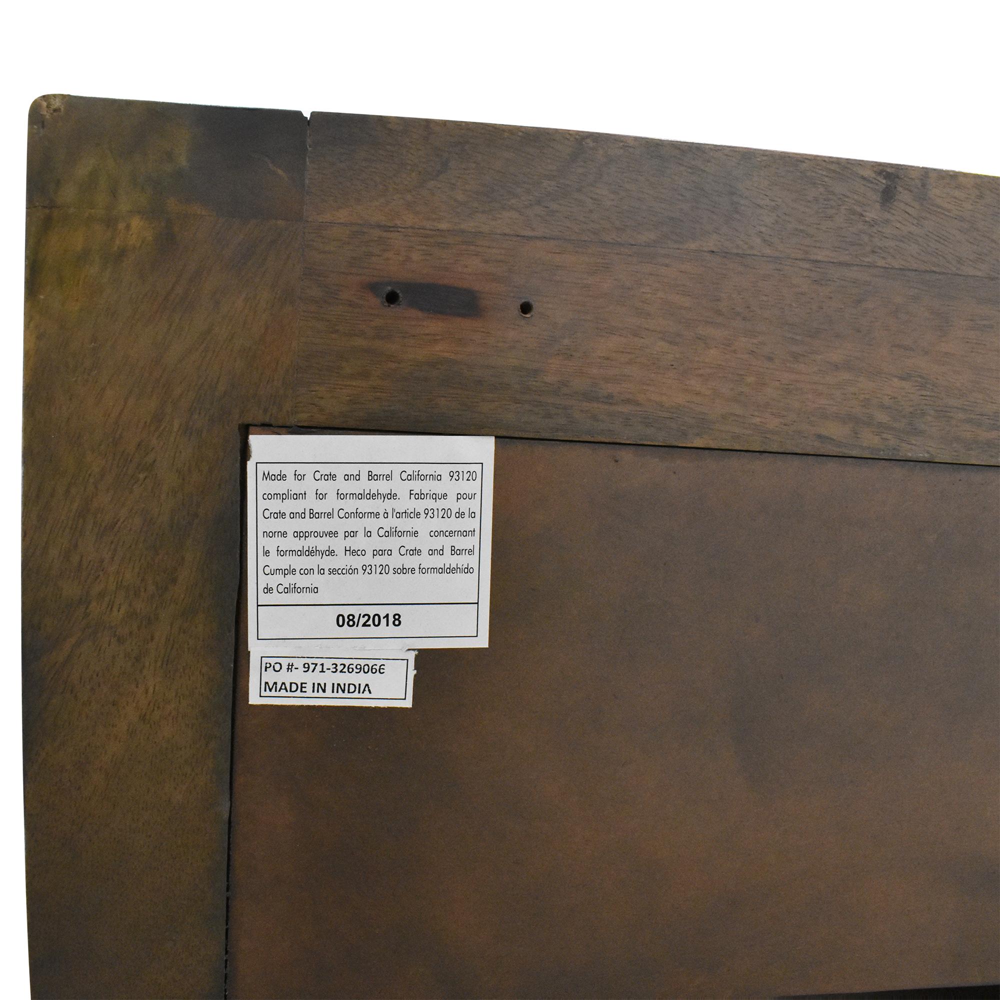 Crate & Barrel Crate & Barrel Wyatt Media Console