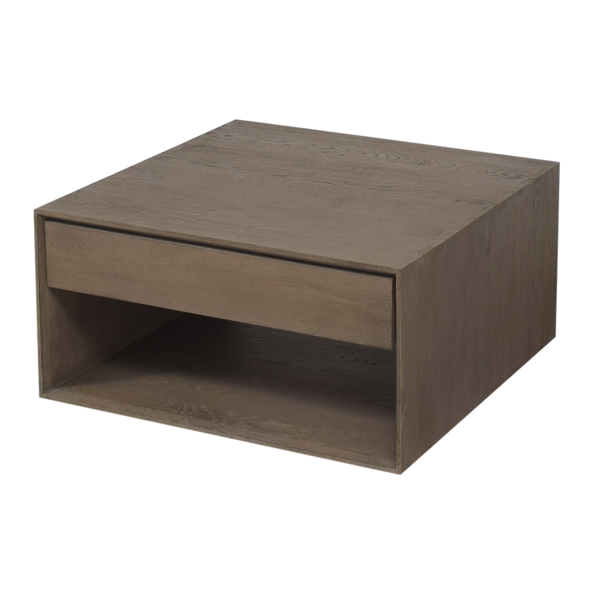 Crate & Barrel Ethan Square Coffee Table sale