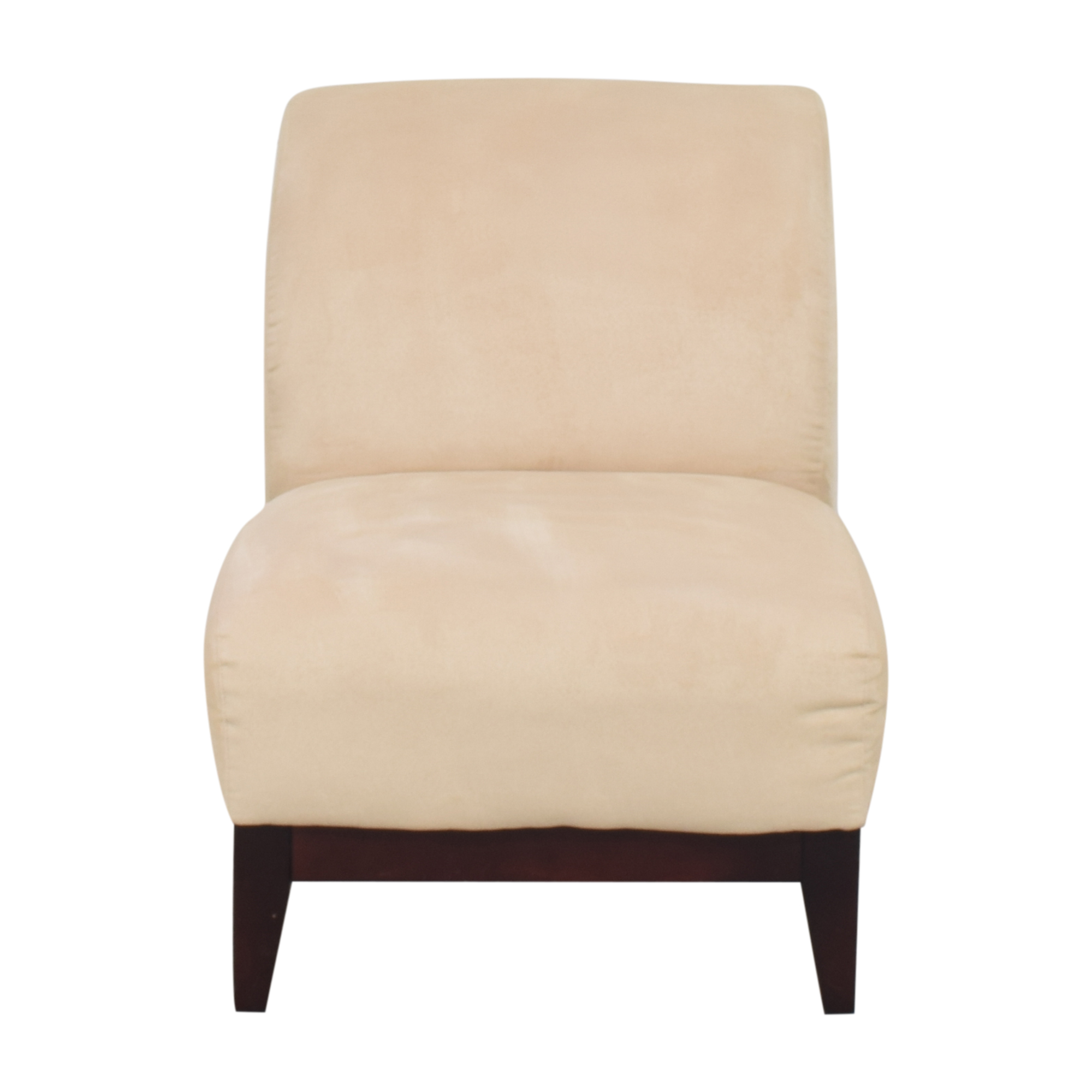 Mitchell Gold + Bob Williams Mitchell Gold + Bob Williams Slipper Chair beige and brown