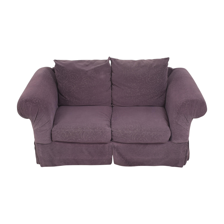 Rowe Furniture Roll Arm Loveseat / Sofas