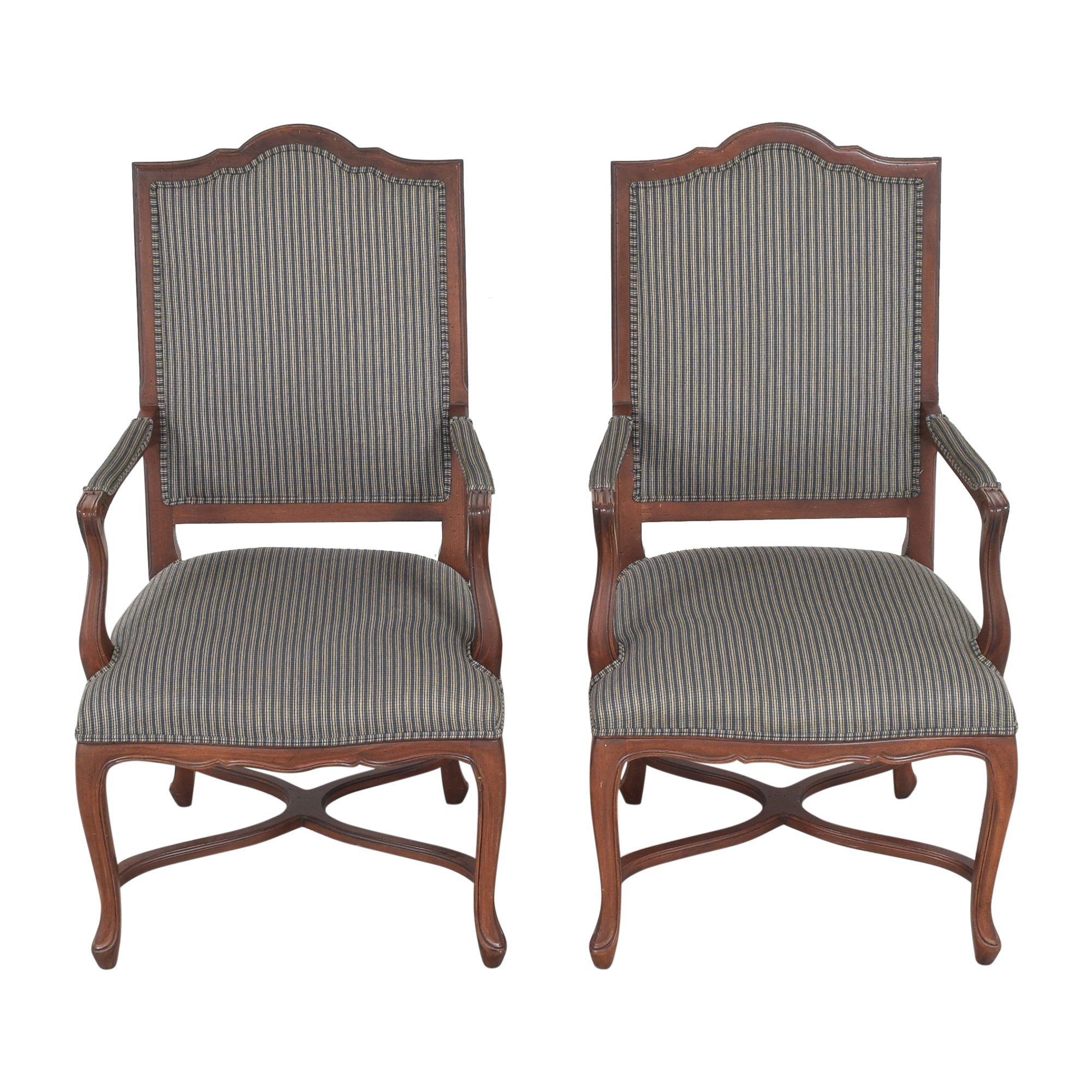 Ethan Allen Ethan Allen Dining Arm Chairs ct