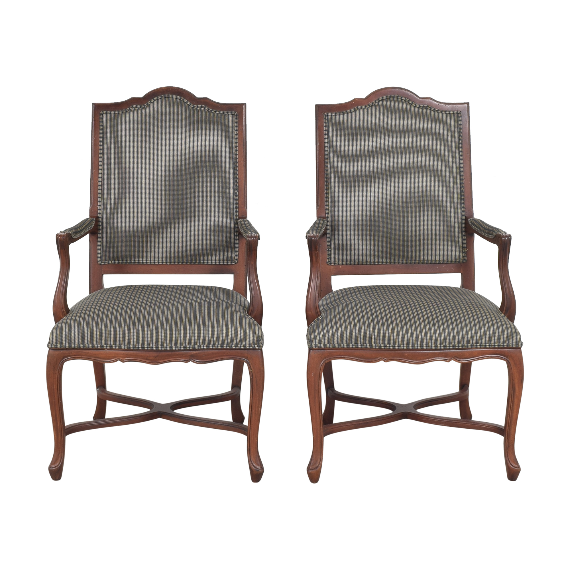 buy Ethan Allen Ethan Allen Dining Arm Chairs online