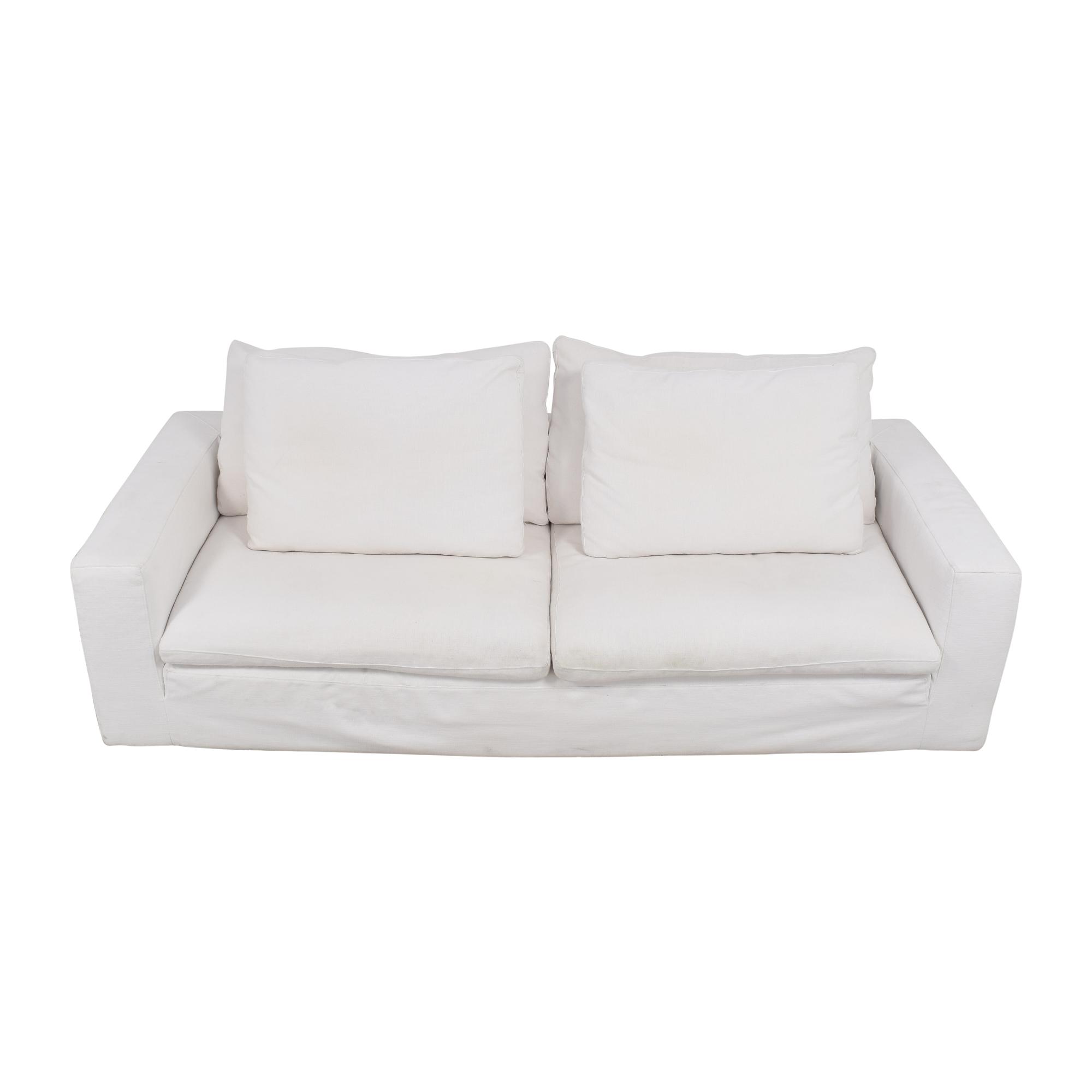 Restoration Hardware Restoration Hardware Cloud Two-Seat-Cushion Sofa