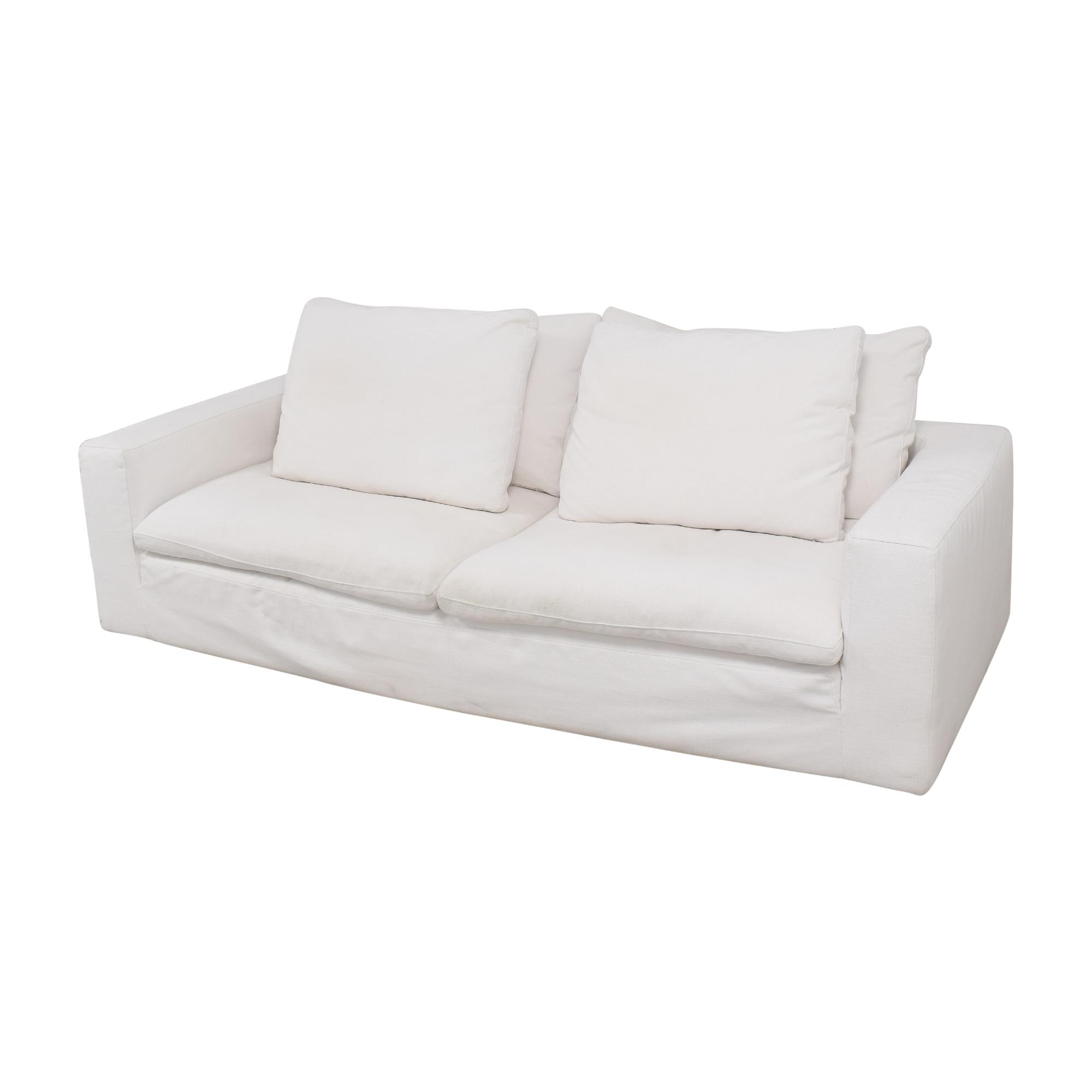 shop Restoration Hardware Cloud Two-Seat-Cushion Sofa Restoration Hardware Classic Sofas