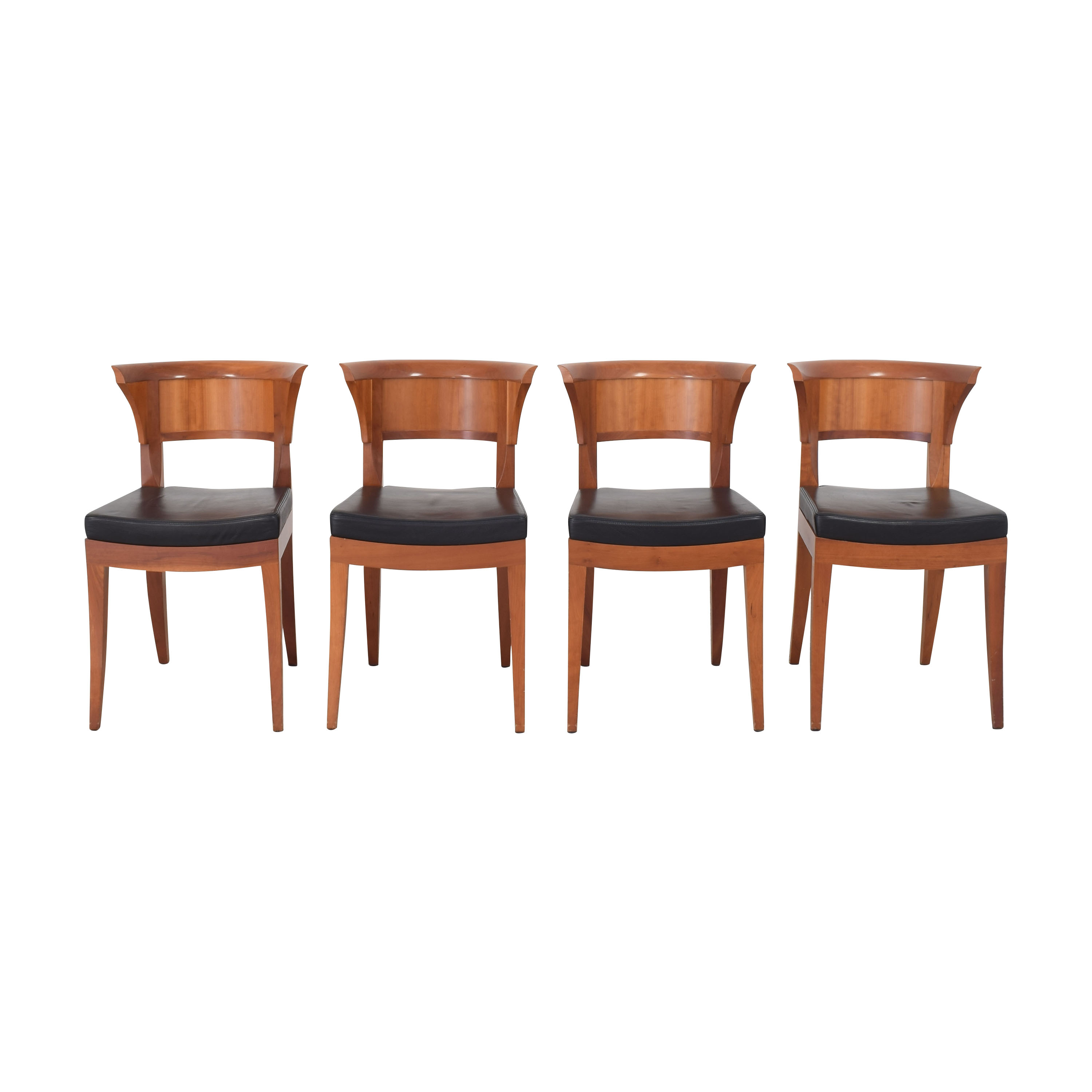 Giorgetti Giorgetti Dining Side Chairs by Lèon Krier Chairs