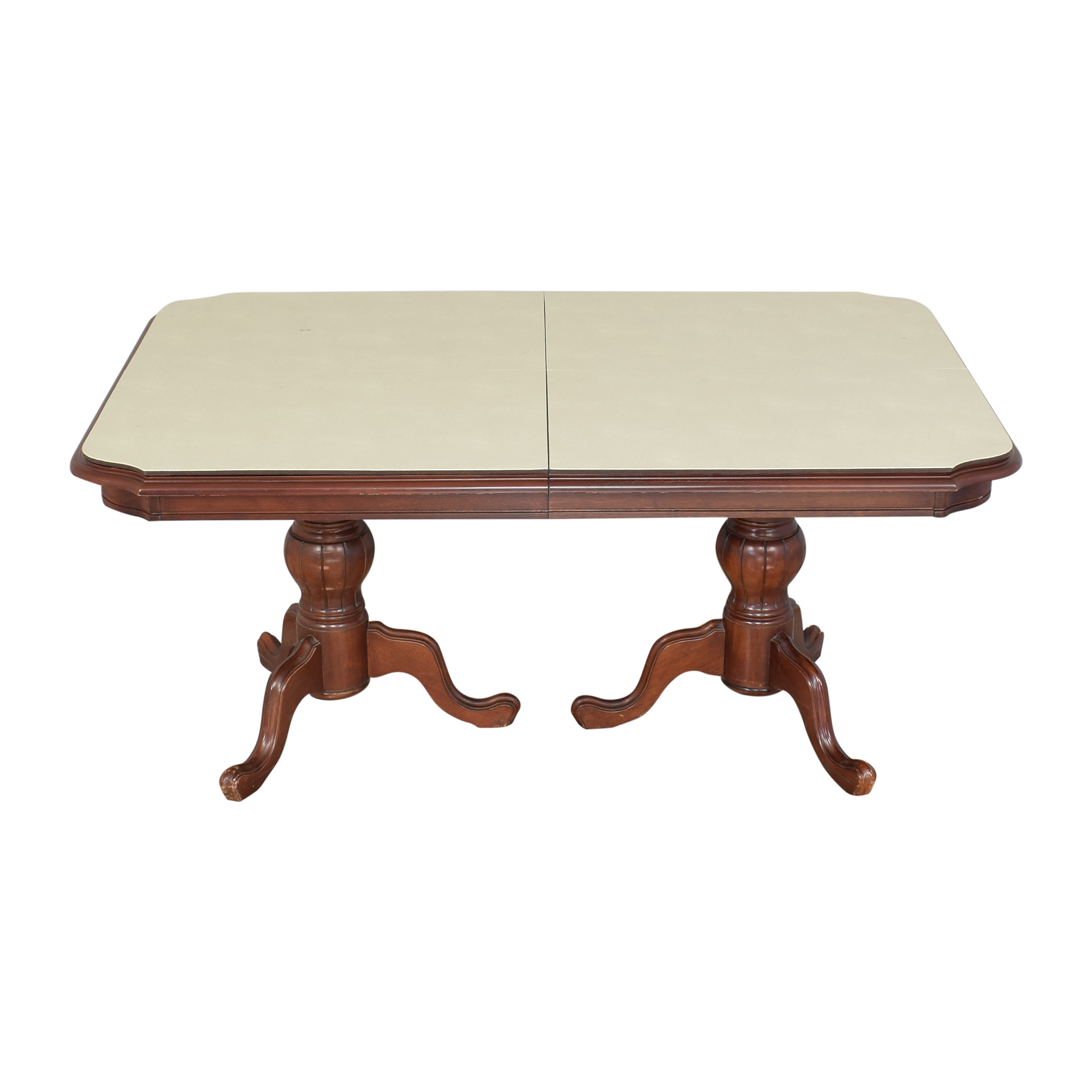 buy Double Pedestal Dining Table  Dinner Tables