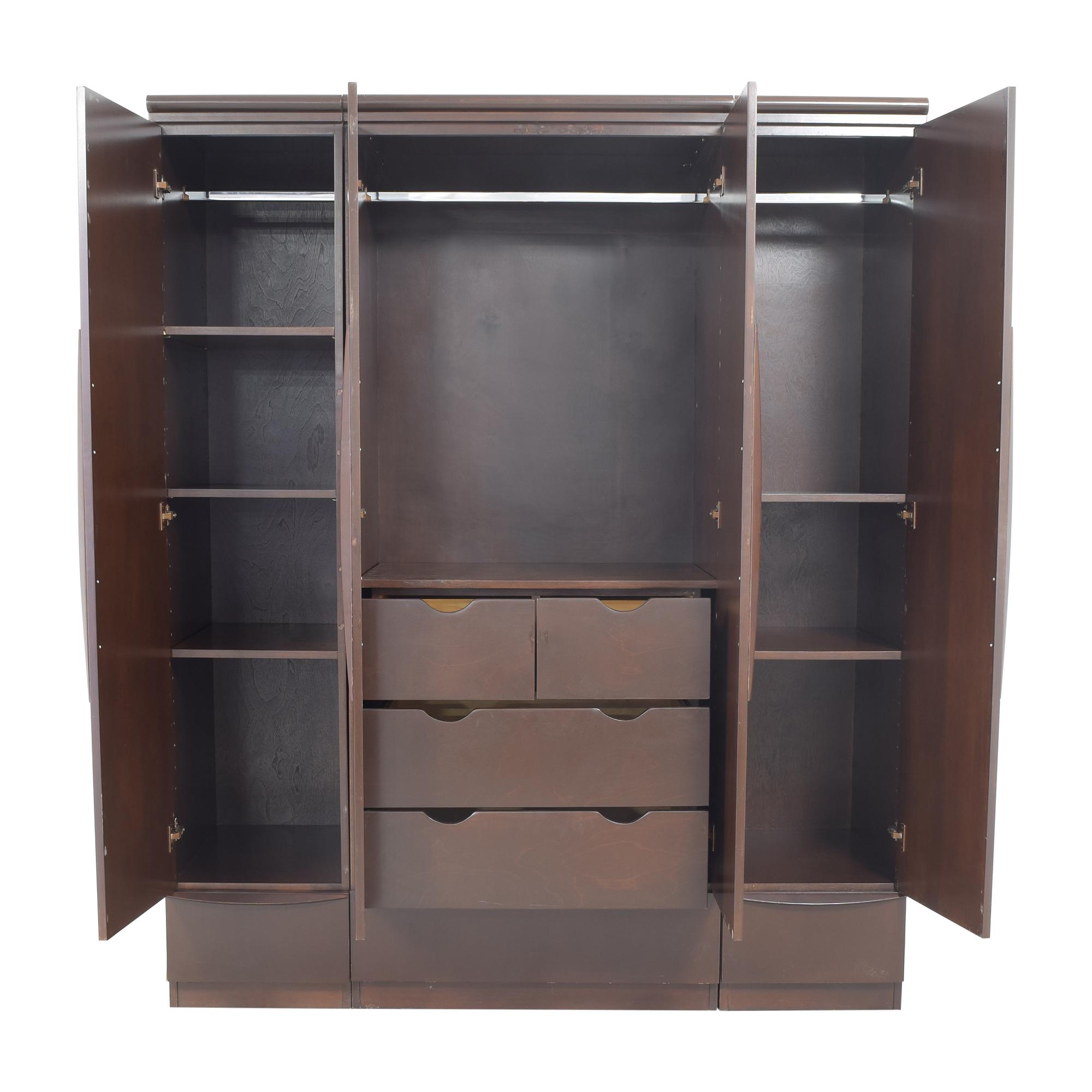 Gothic Cabinet Craft Gothic Cabinet Craft Custom Wardrobe brown