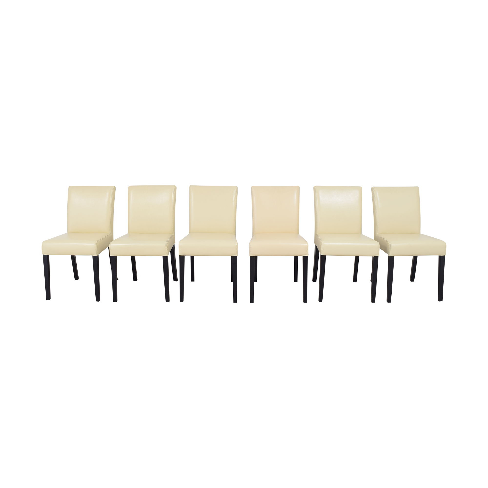 Crate & Barrel Crate & Barrel Lowe Dining Chairs ma
