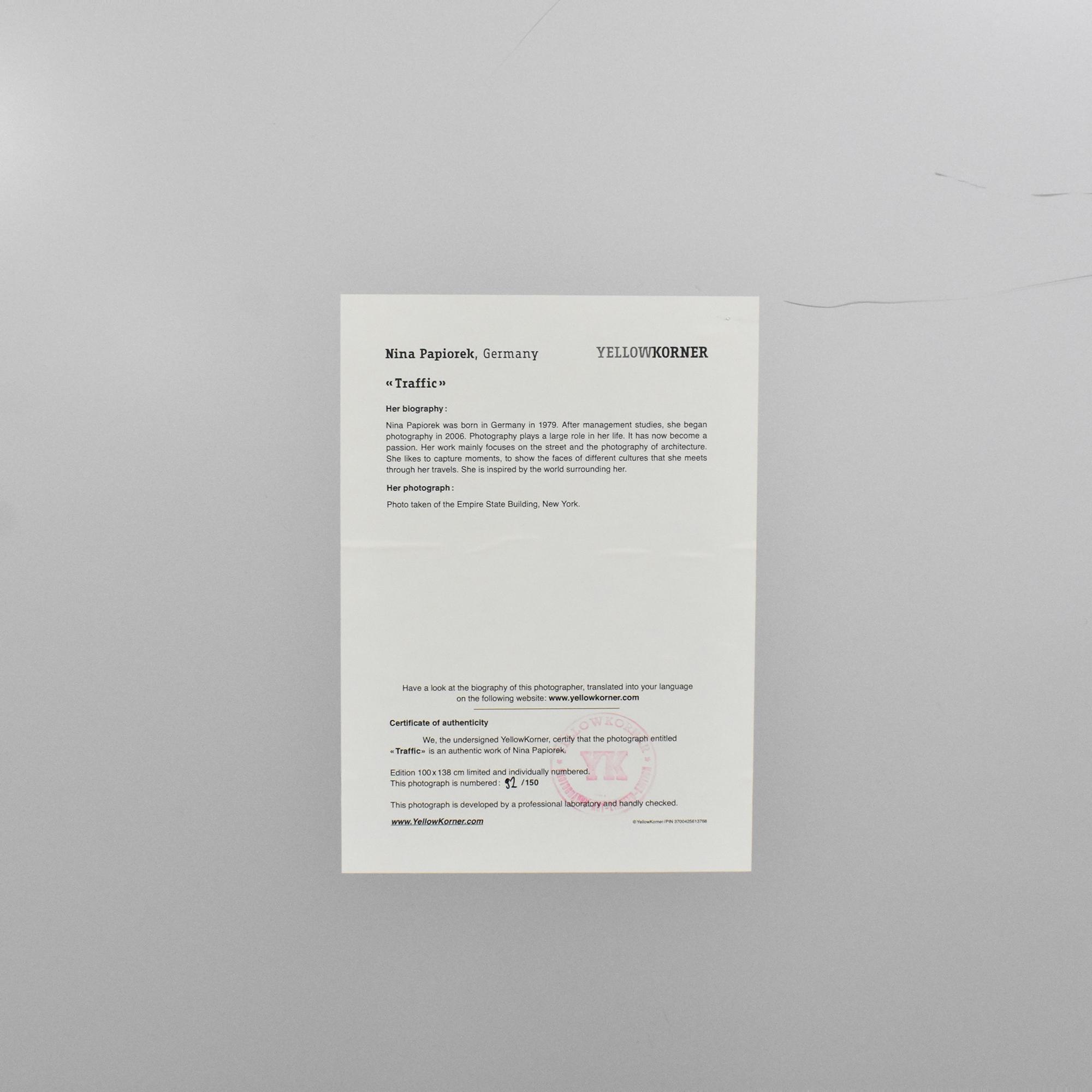 Nina Papiorek Traffic Print nj