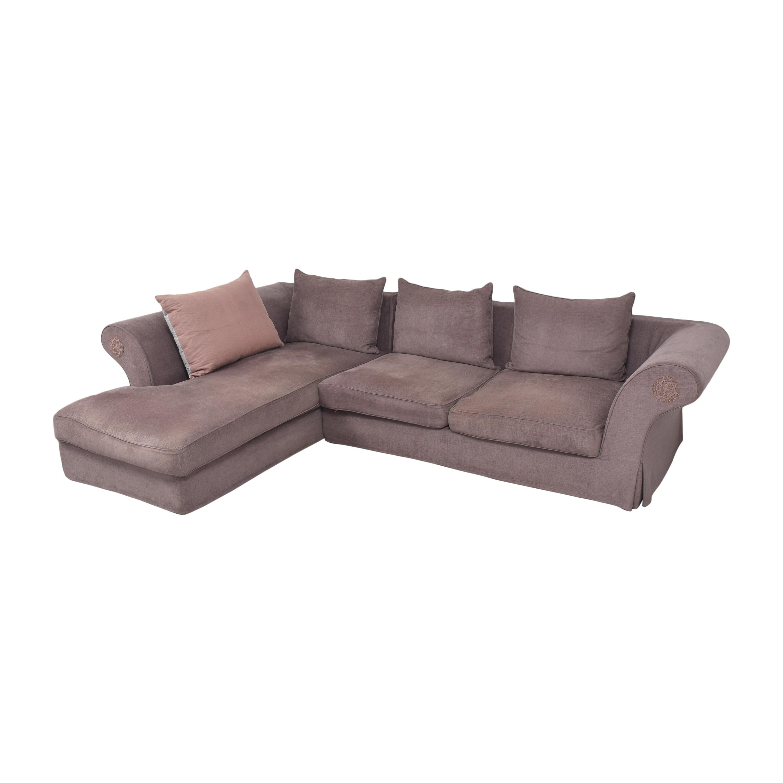 Roche Bobois Roche Bobois Chaise Sectional Sofa used