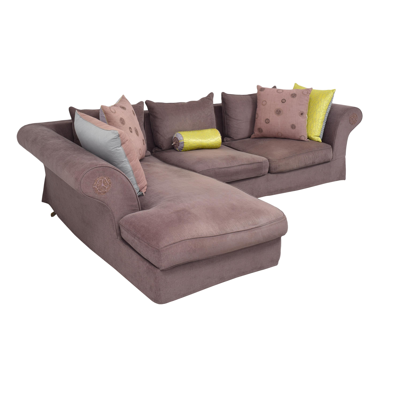 Roche Bobois Roche Bobois Chaise Sectional Sofa nj