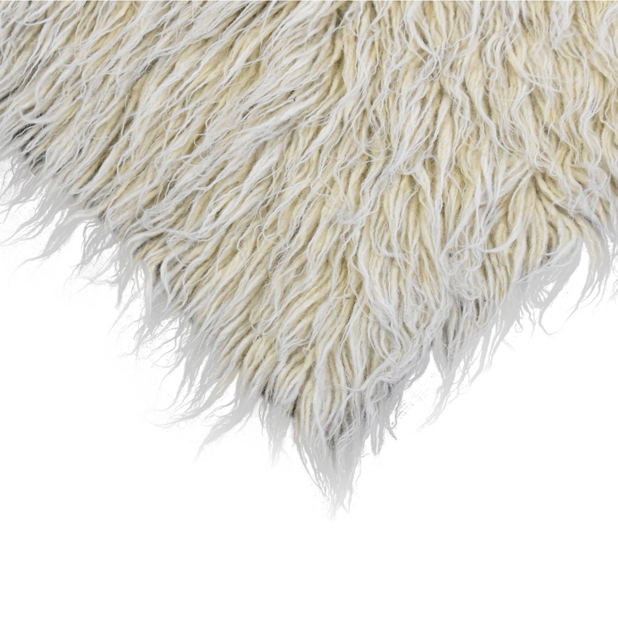 ABC Carpet & Home ABC Carpet & Home Shag Area Rug second hand