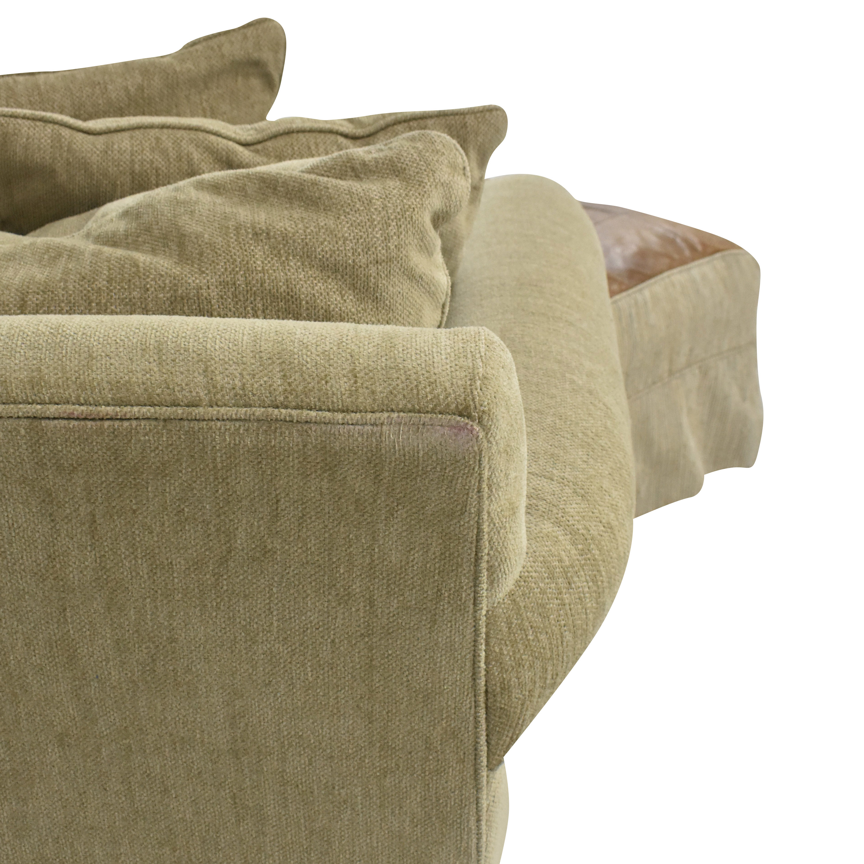 Macy's Macy's Modern Concepts Sofa with Ottoman beige