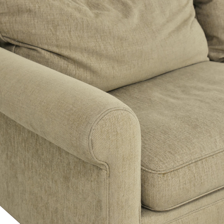 shop Macy's Modern Concepts Sofa with Ottoman Macy's Sofas