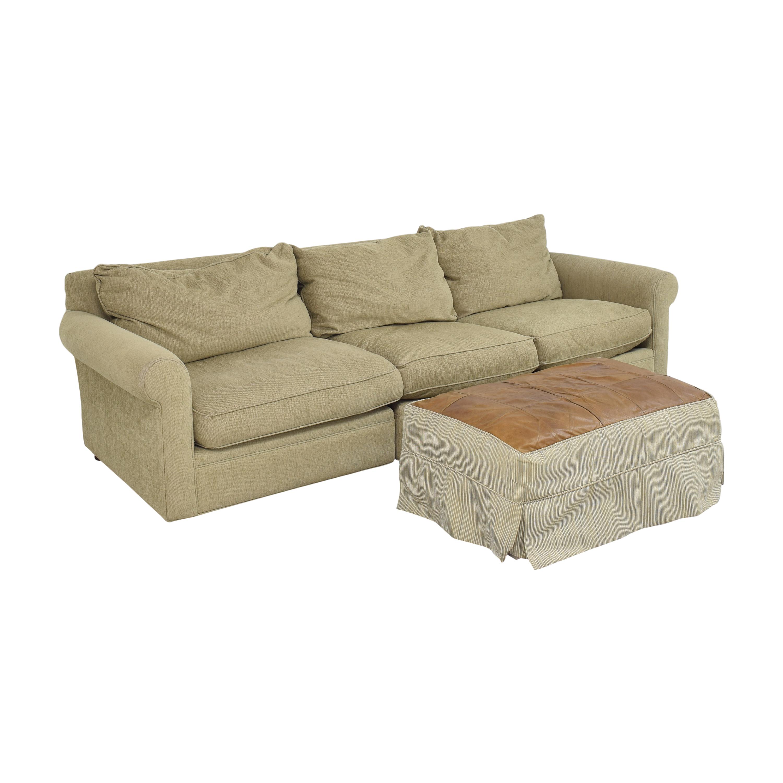 buy Macy's Modern Concepts Sofa with Ottoman Macy's Sofas