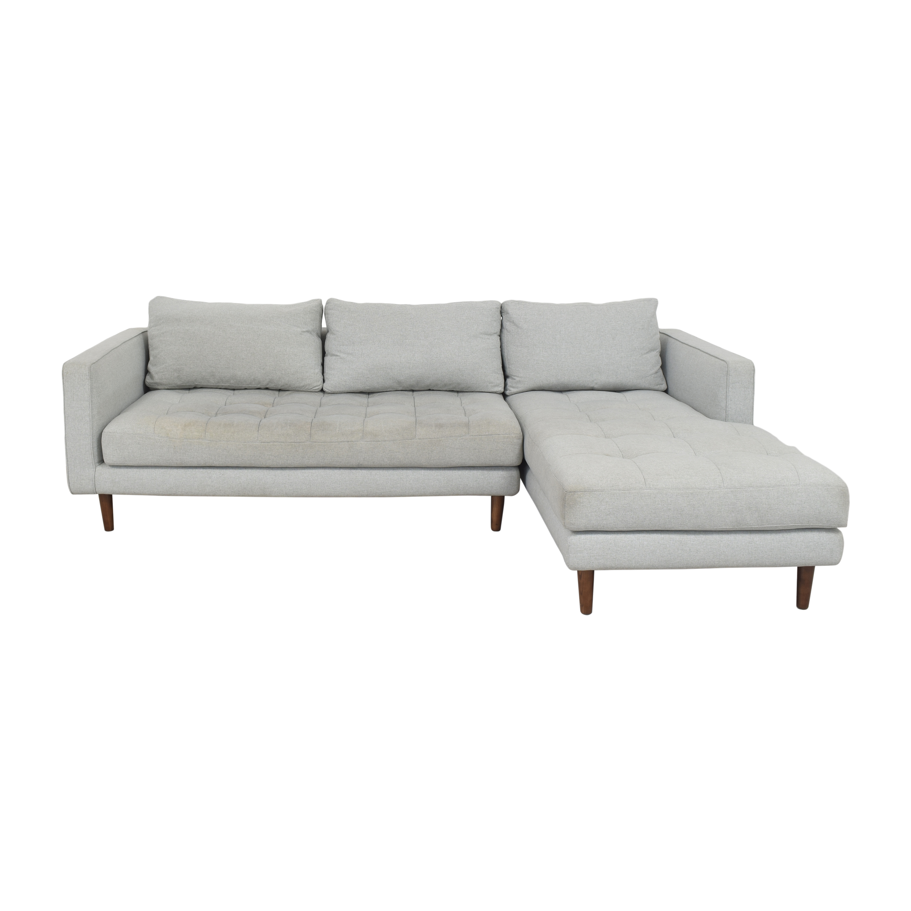 shop Rove Concepts Luca Sectional Sofa with Chaise Rove Concepts