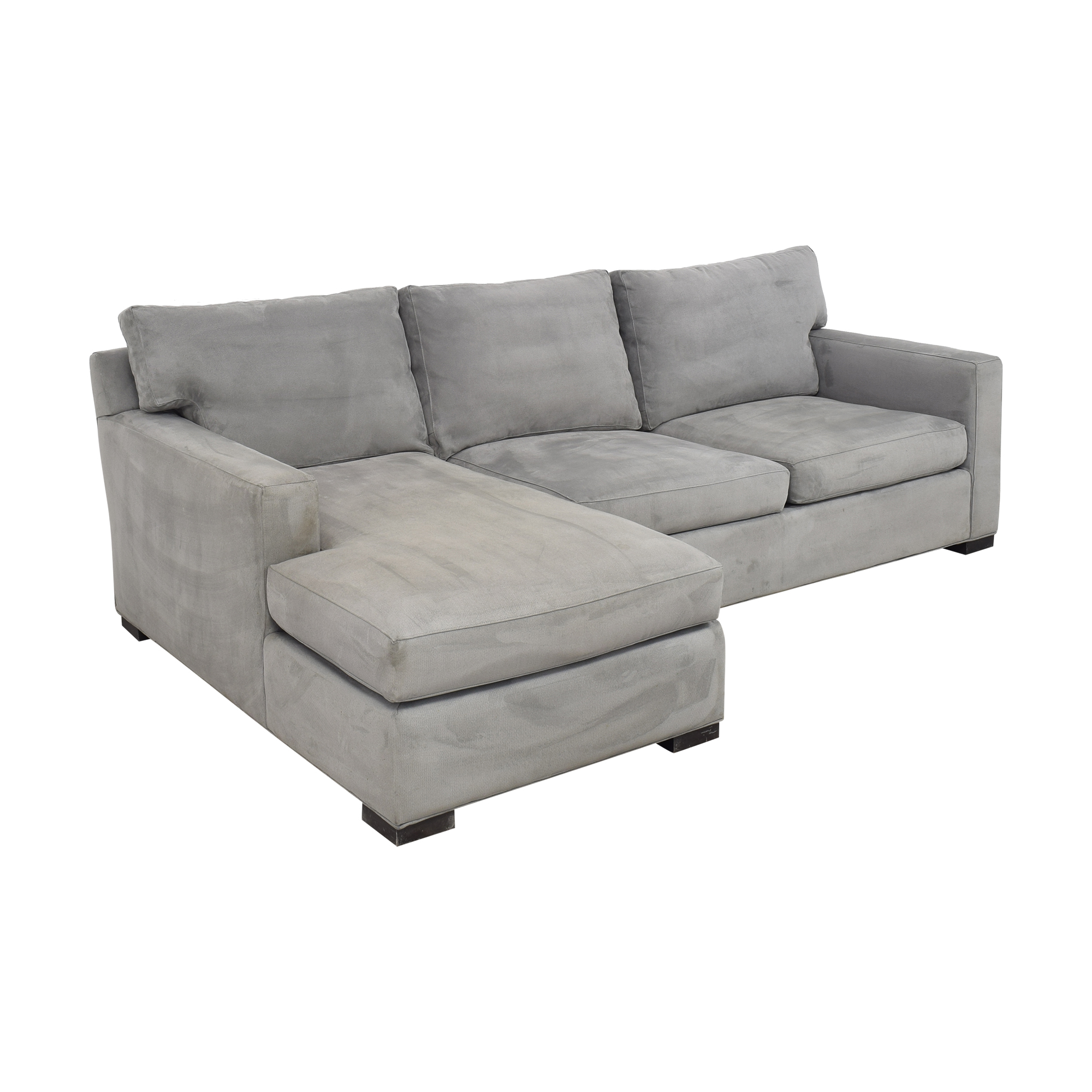 Crate & Barrel Axis II Chaise Sectional Sofa / Sectionals