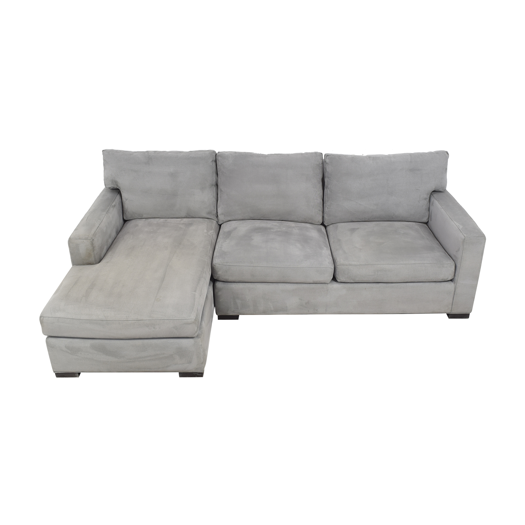 Crate & Barrel Crate & Barrel Axis II Chaise Sectional Sofa nj