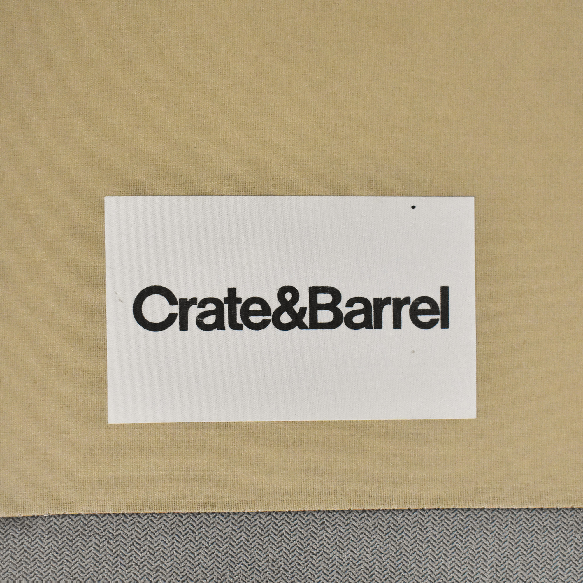 Crate & Barrel Crate & Barrel Axis II Chaise Sectional Sofa for sale