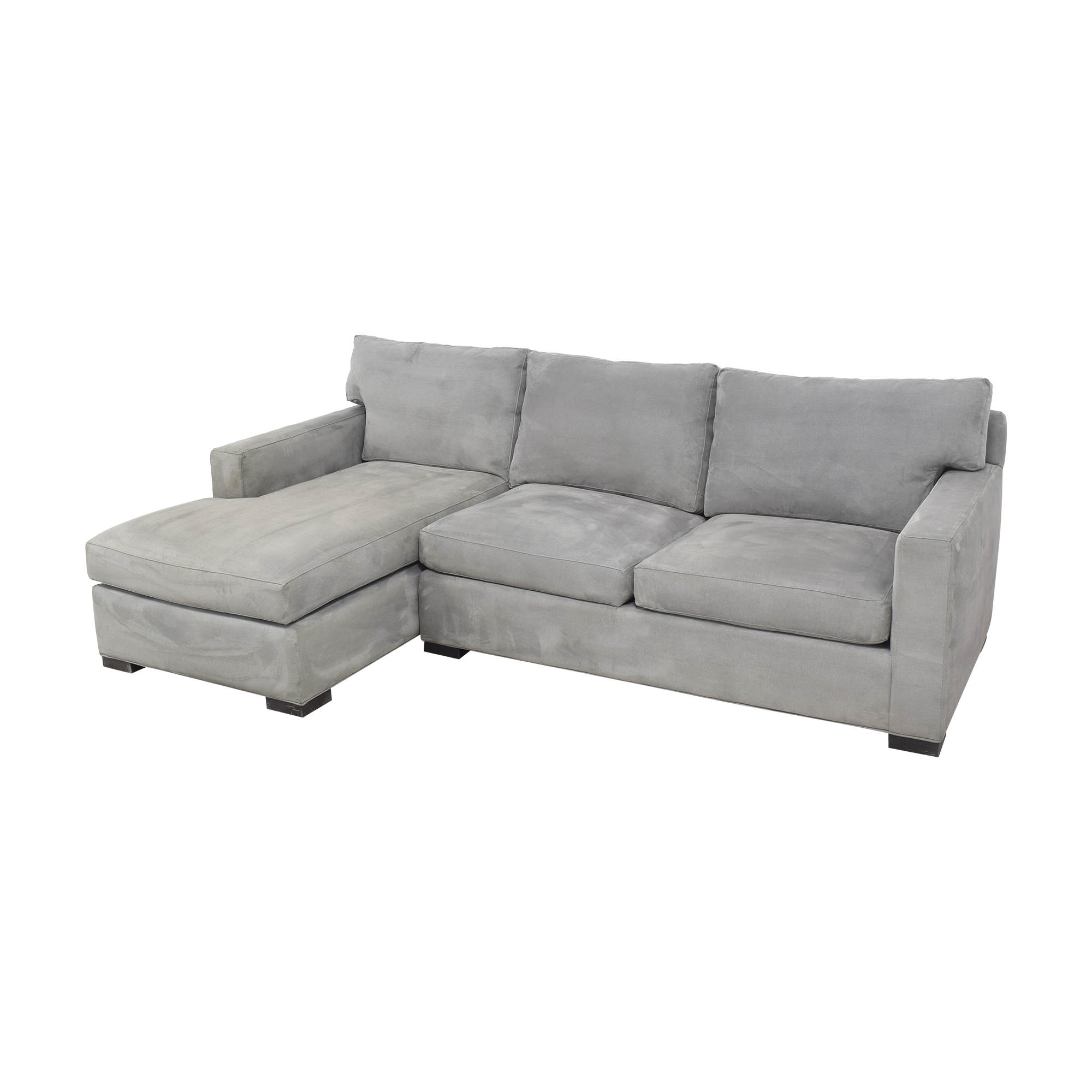 Crate & Barrel Crate & Barrel Axis II Chaise Sectional Sofa second hand