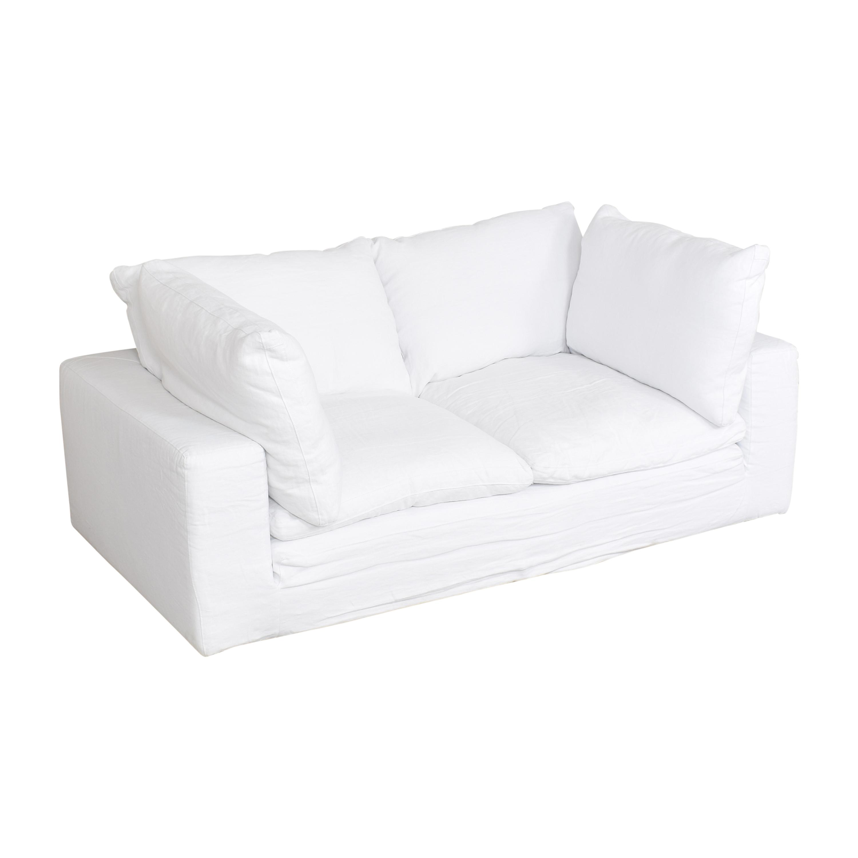 buy Restoration Hardware Cloud Two Seat Cushion Sofa Restoration Hardware Sofas