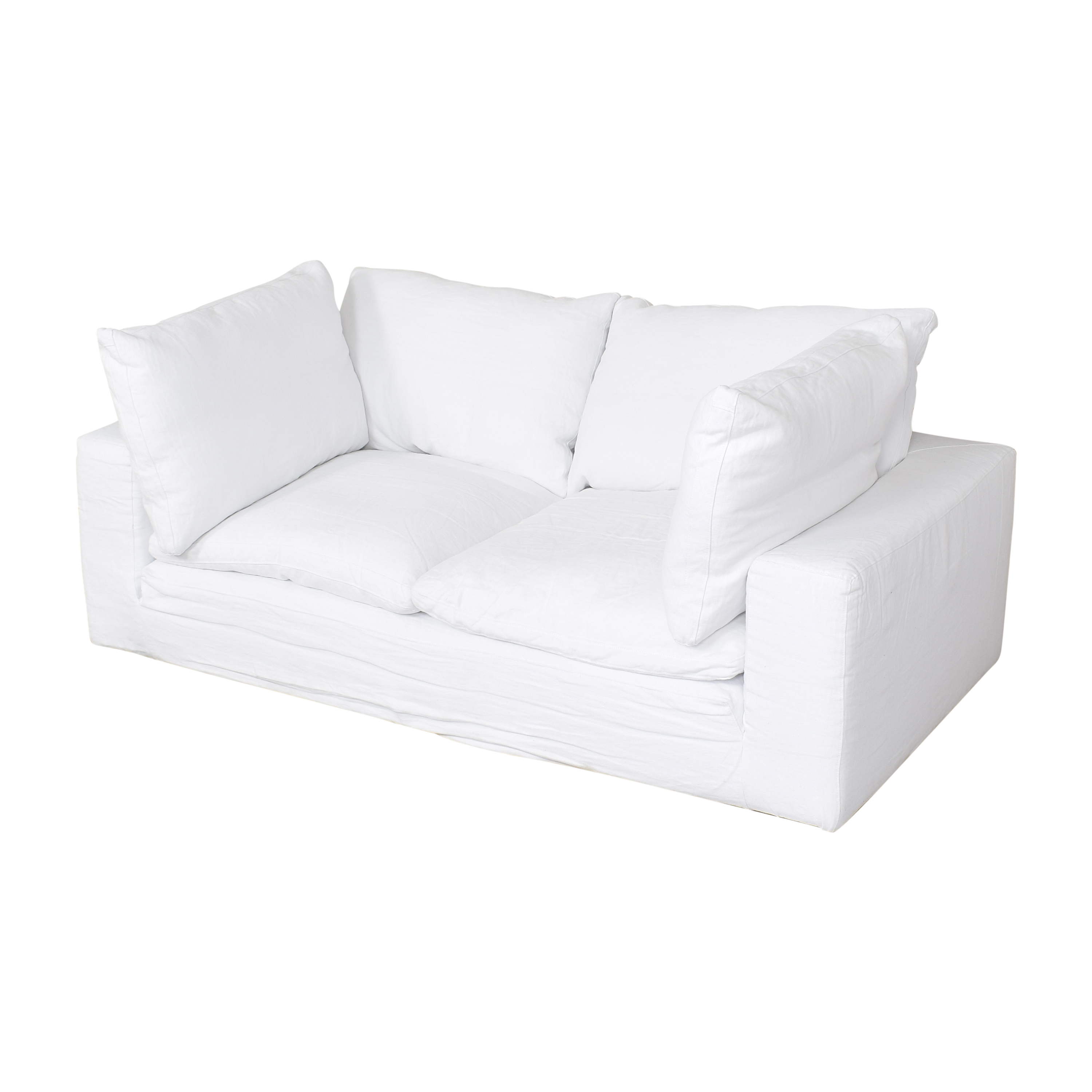 Restoration Hardware Restoration Hardware Cloud Two Seat Cushion Sofa for sale