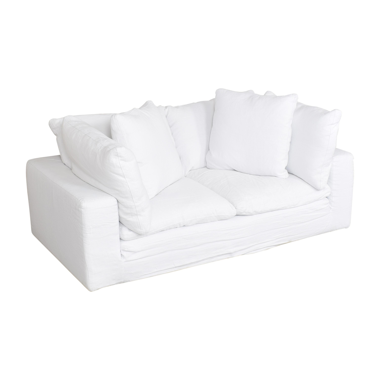Restoration Hardware Restoration Hardware Cloud Two Seat Cushion Sofa pa
