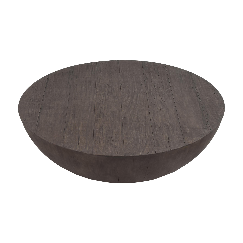 shop Restoration Hardware Sphere Round Coffee Table Restoration Hardware Tables