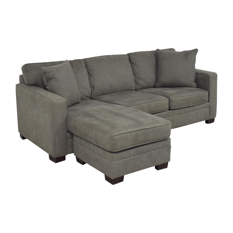 Bauhaus Furniture Bauhaus Track Arm Chaise Sectional Sofa Sofas