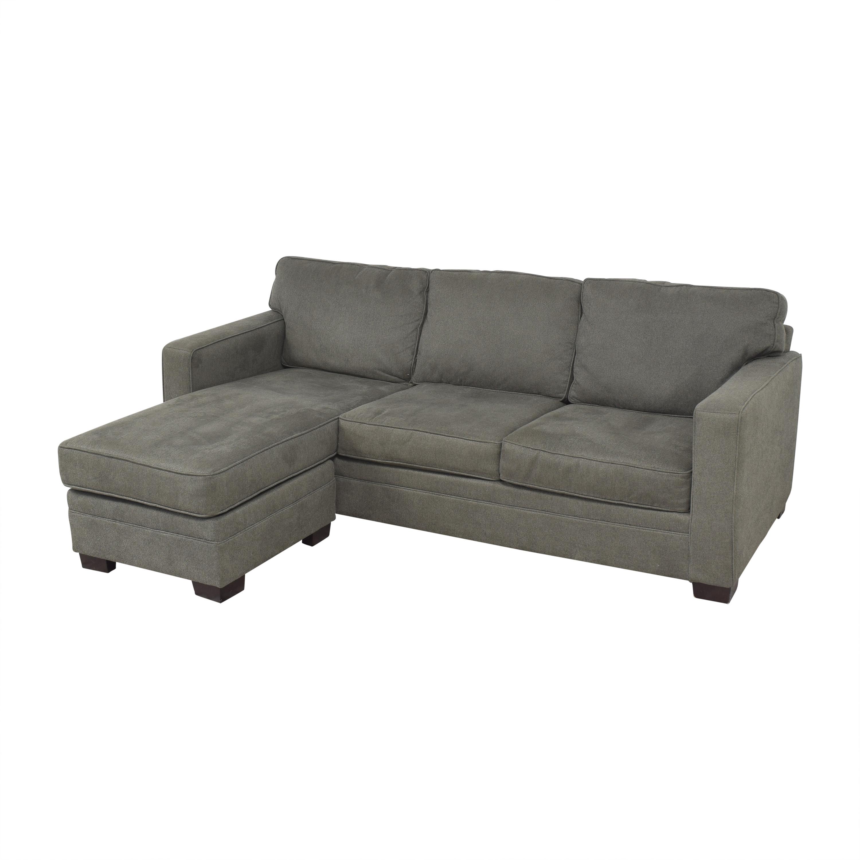 Bauhaus Furniture Bauhaus Track Arm Chaise Sectional Sofa on sale