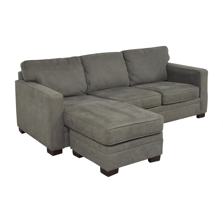Bauhaus Track Arm Chaise Sectional Sofa sale