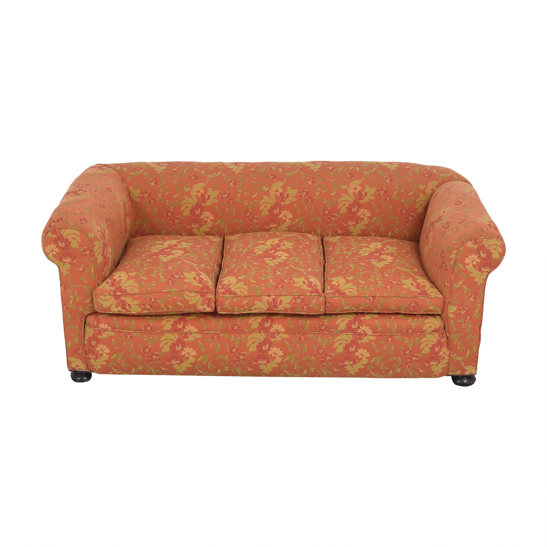 Vintage Three Cushion Sofa dimensions