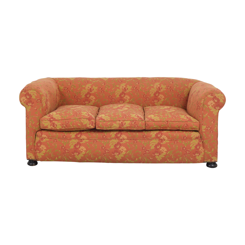 Vintage Three Cushion Sofa second hand